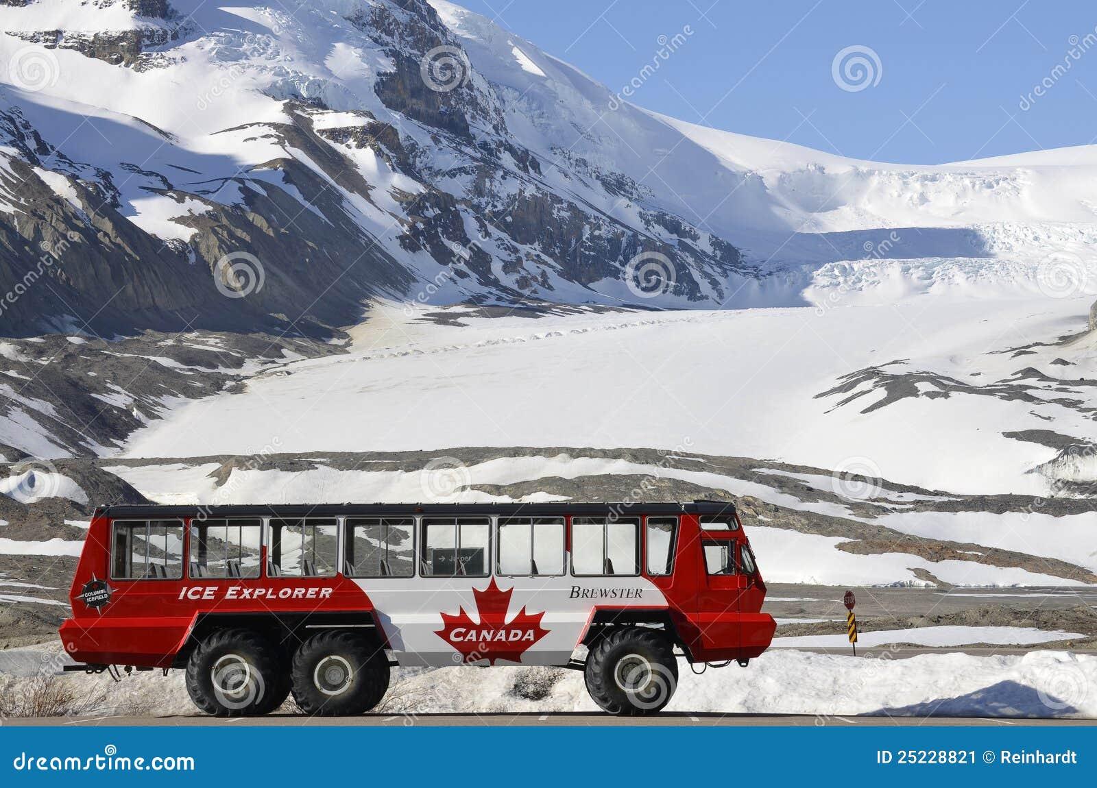 Is för glaciär för athabascabussutforskare