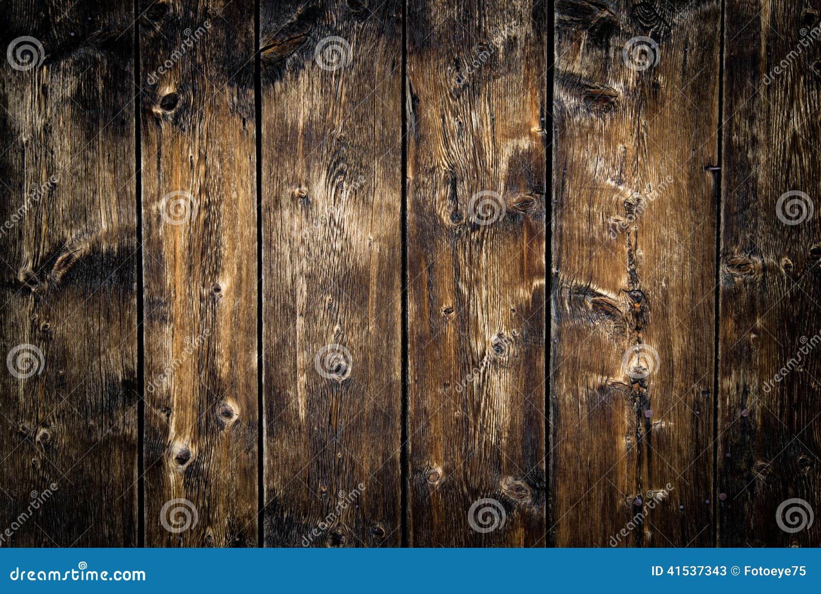 För golvbakgrund för gammal ladugård Wood textur