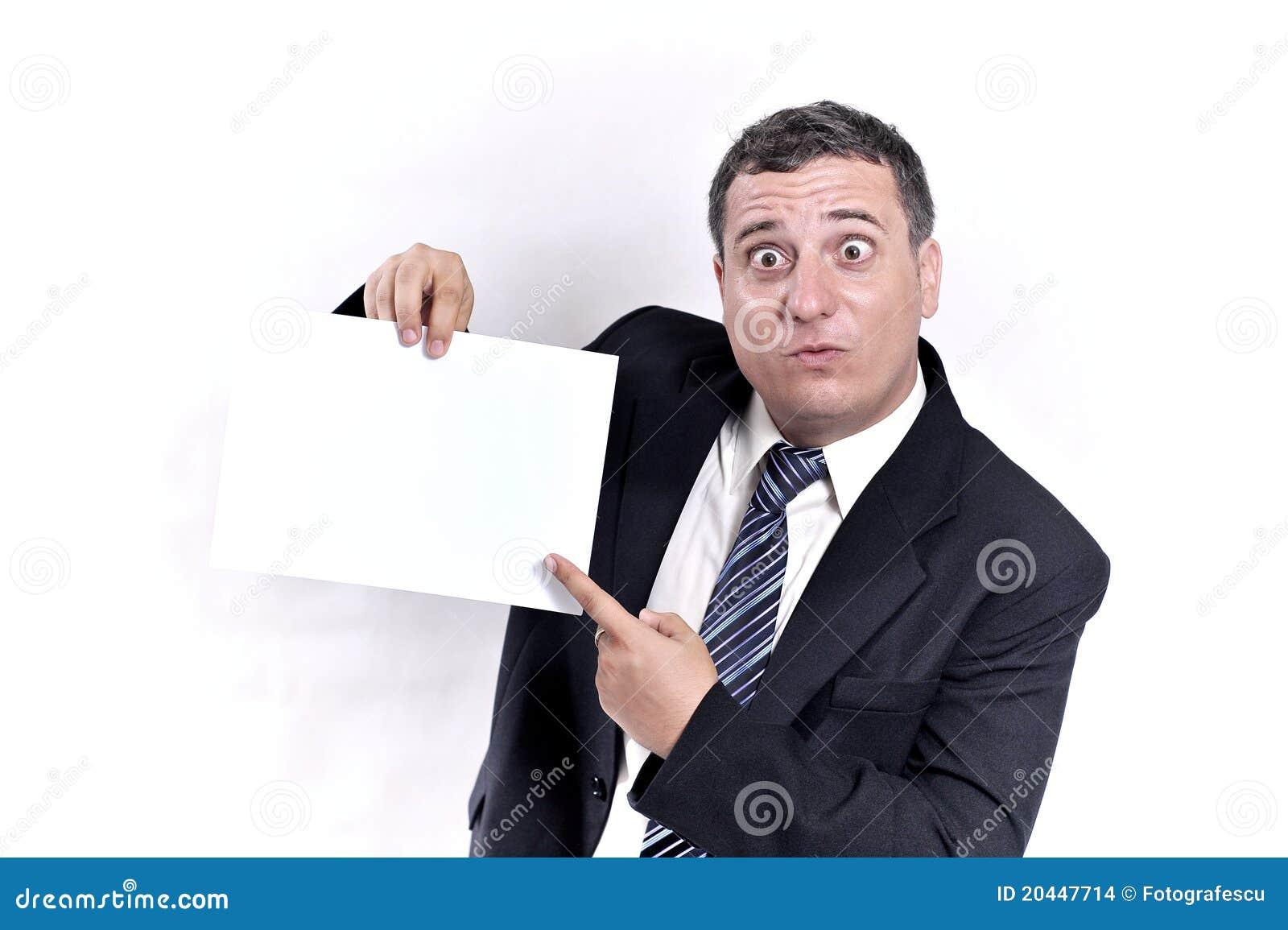 För handman för affär galet papper