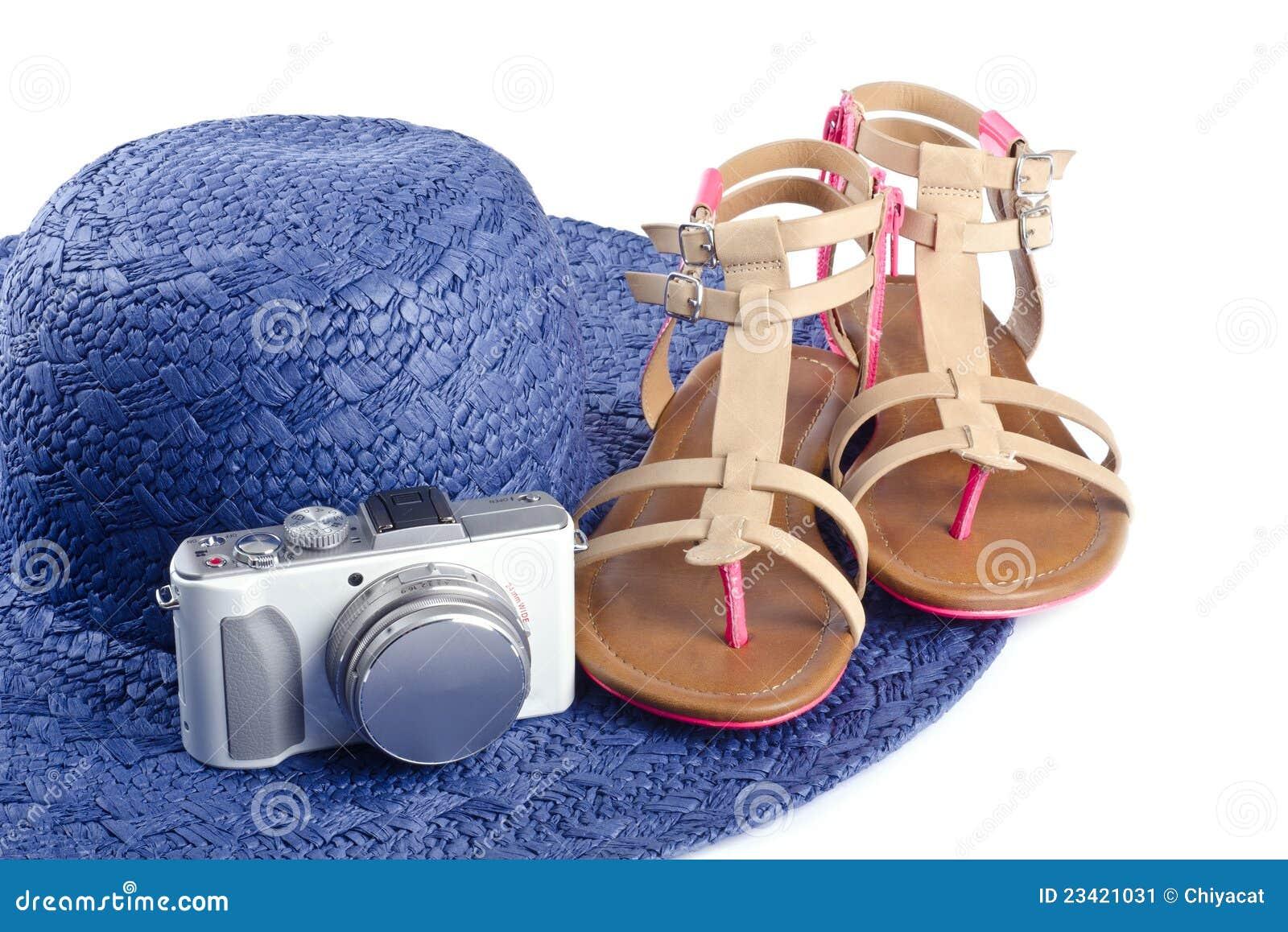 För hattsandals för kamera digitalt sugrör
