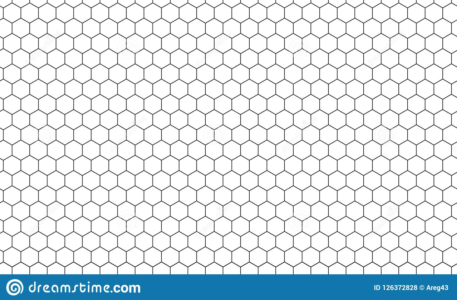 För honungskakamodell för sexhörning netto bakgrund för vektor