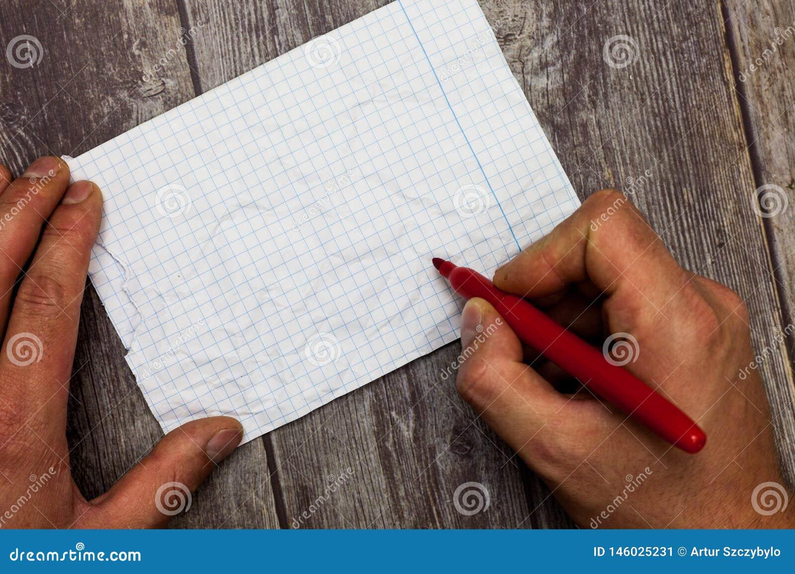 För Huanalysis för bakgrund för tomt utrymme för kopia för designaffärsidé modern abstrakt markör Pen Writing för innehav hand på