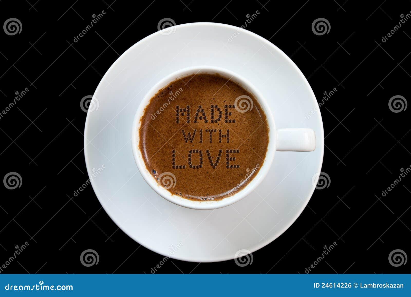 För ingrediensförälskelse för kaffe grekisk hemlighet