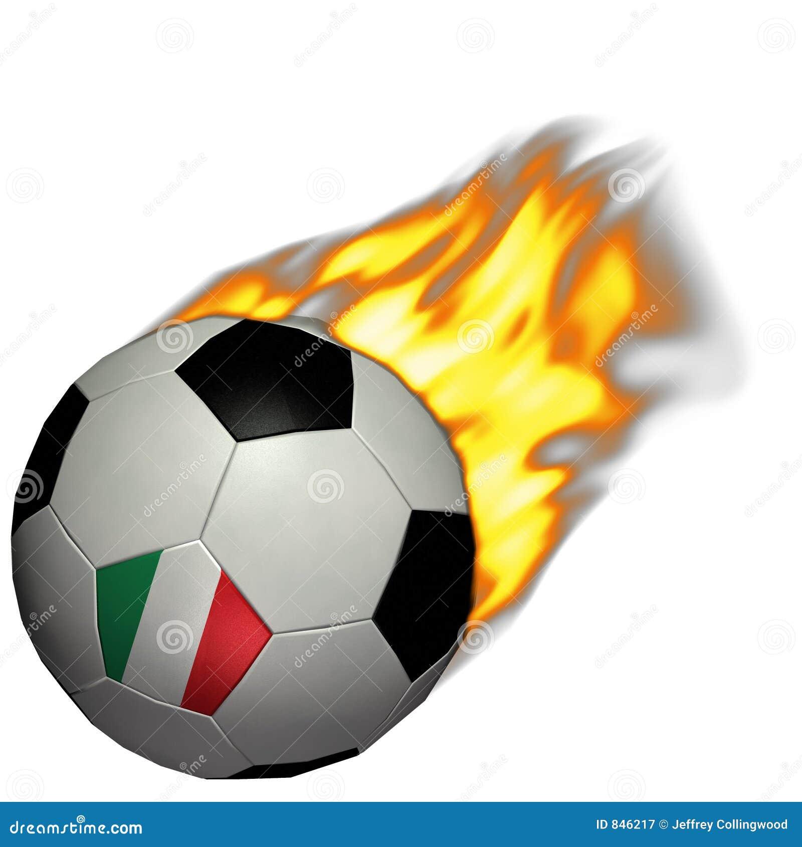 För italy för koppbrandfotboll värld fotboll