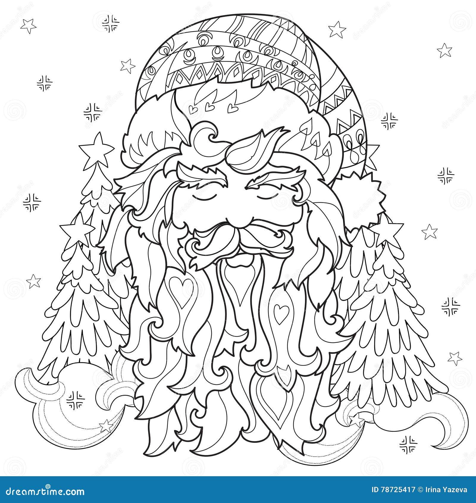 För julsaga för vektor gulligt klotter för stad