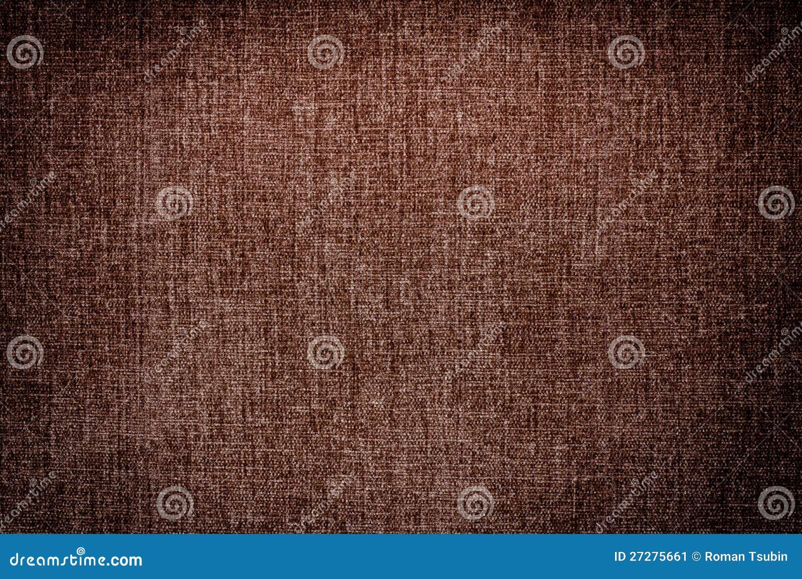 För kanfastextur för mörk brown bakgrund