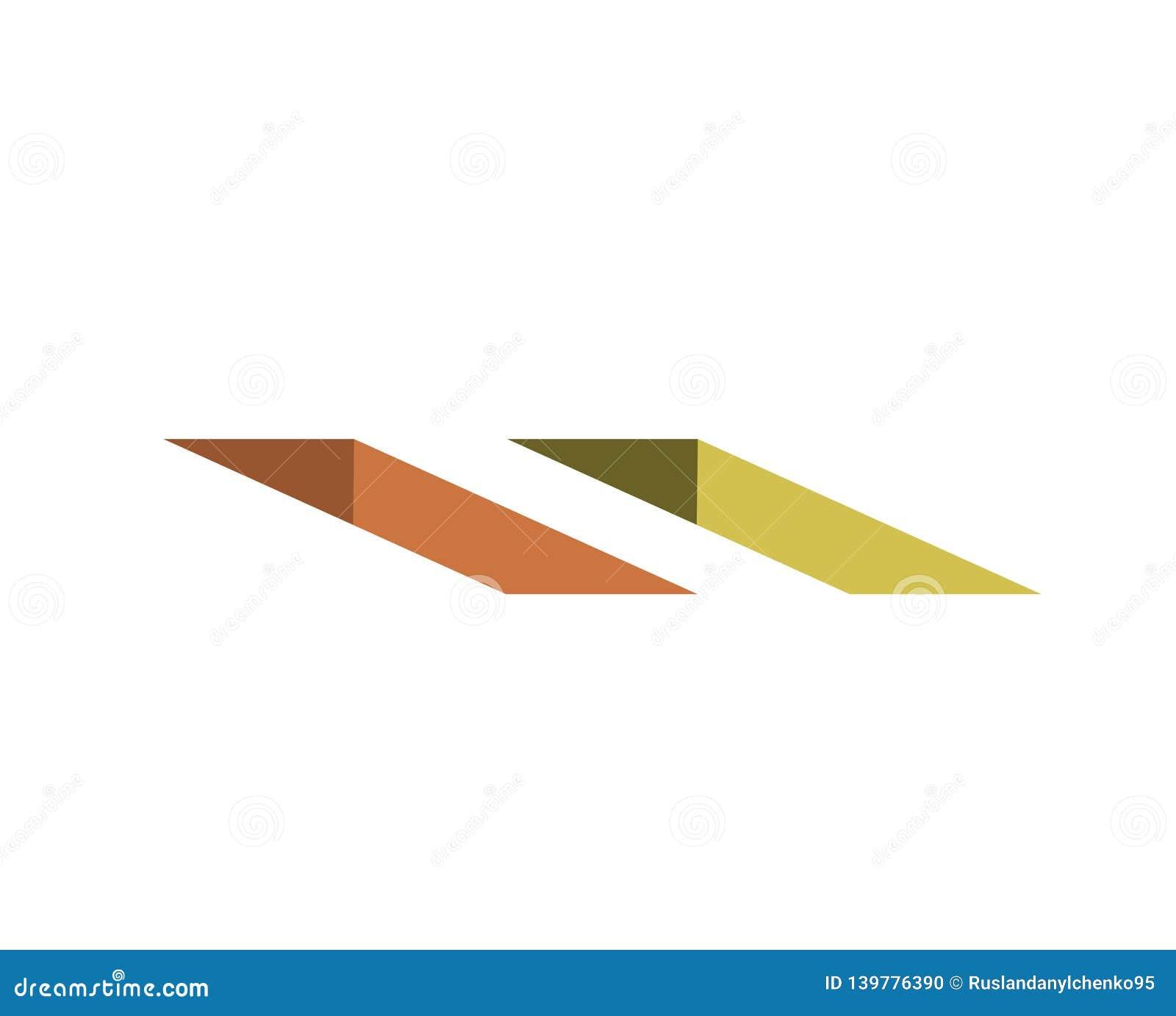 För kolonnbild för askar 3d platta vektorklassiker grop