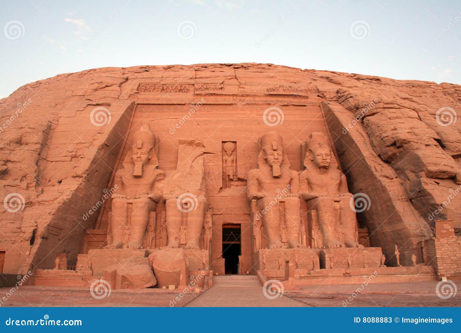 För konungramesses för abu ii tempel för simbel