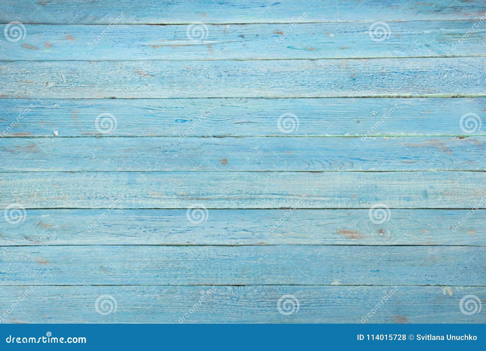 För kupatextur för bakgrund brunt trä Ädelträ wood korn, grungestil för organiskt material bästa sikt för blå träyttersida table