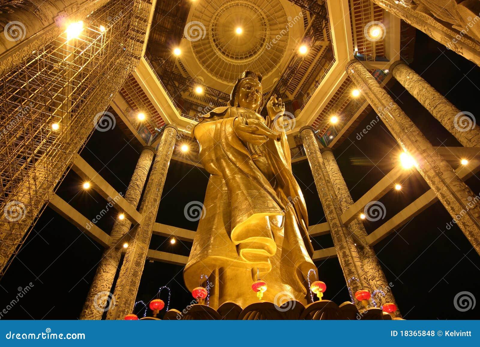 För loksi för 01 kek kuan yin för staty