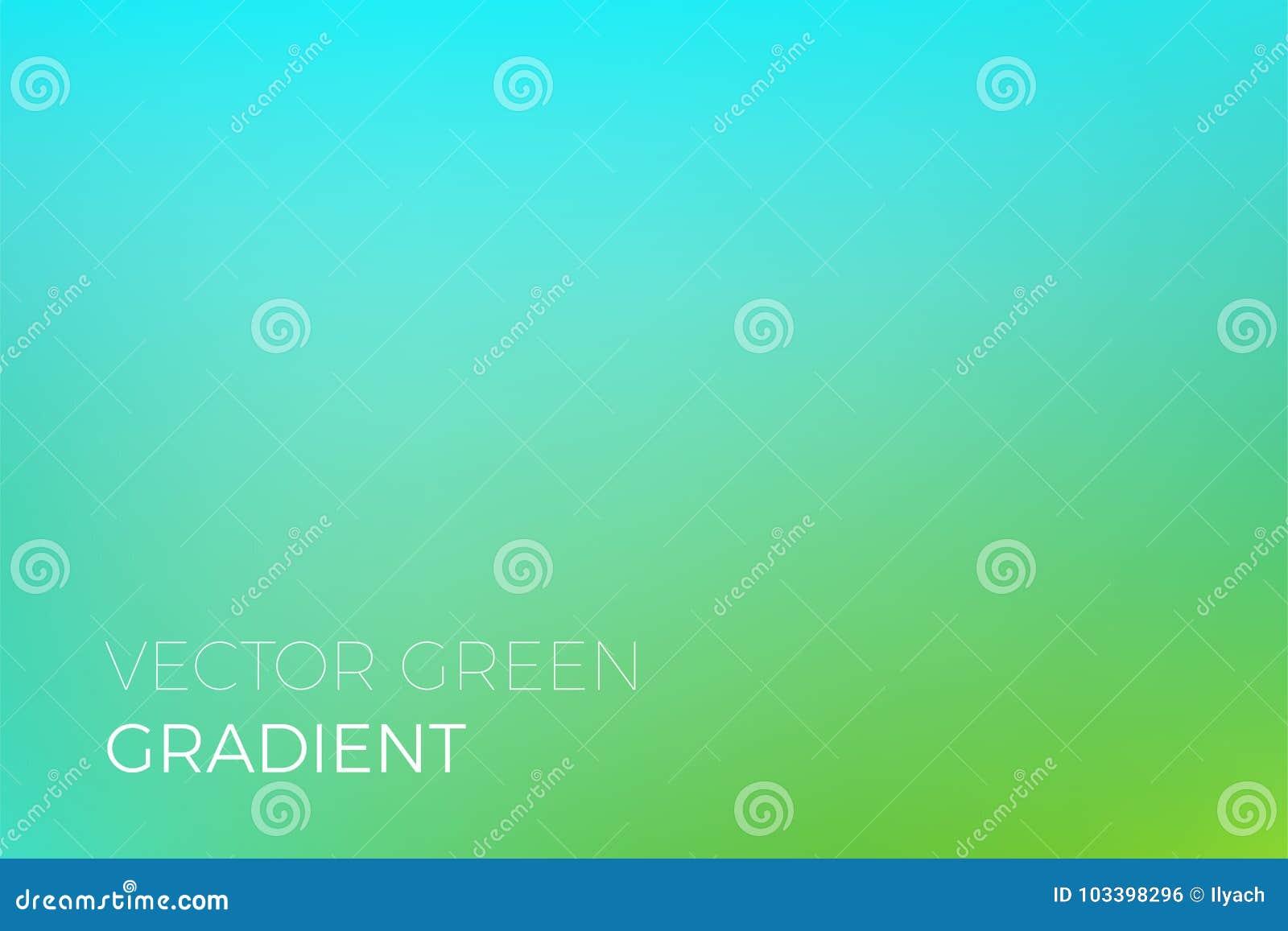 För lutningbakgrund för grön färg ekologi för natur för eco för mall för design för bakgrund för vektor