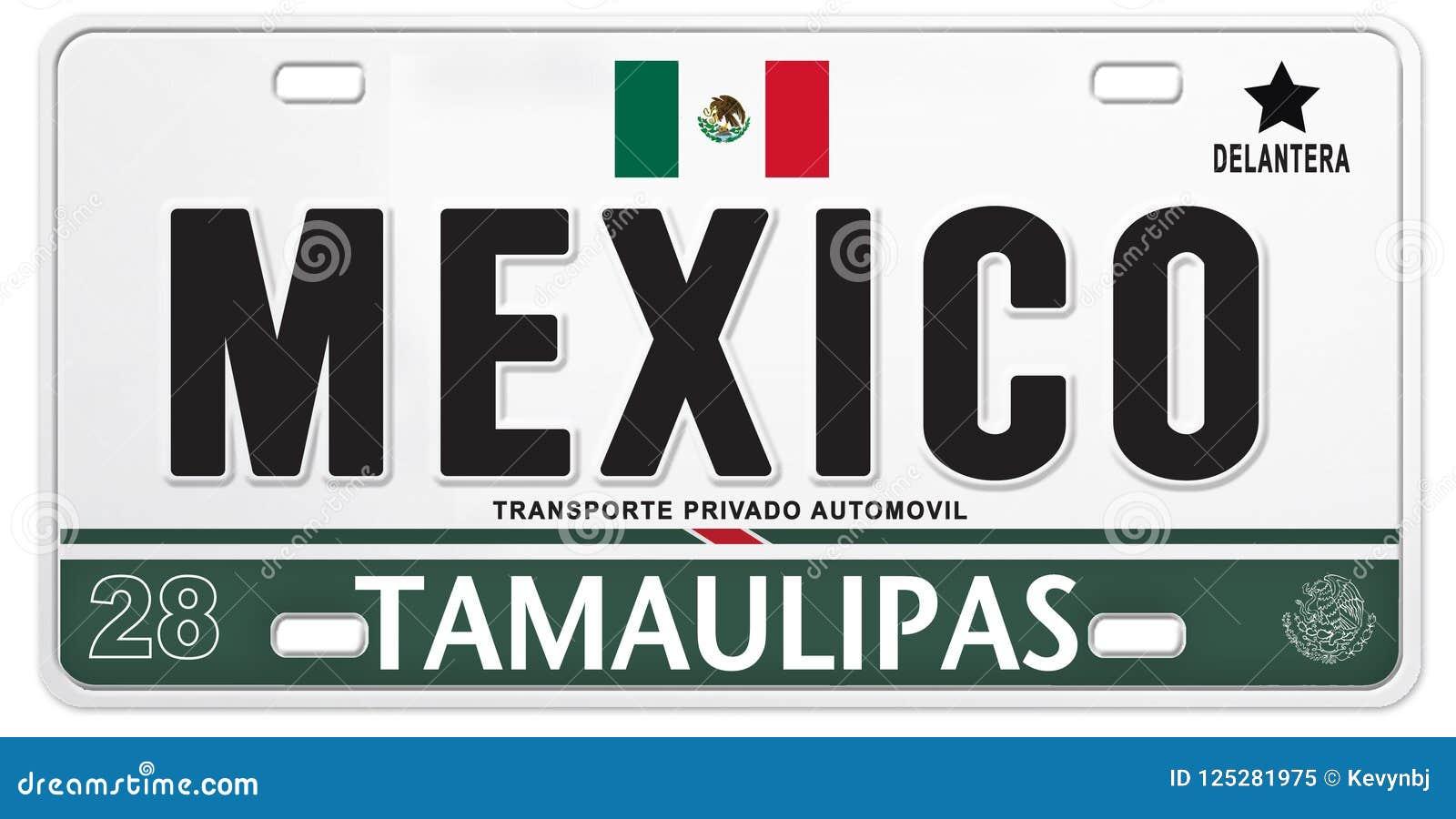 För Mexico för mexicansk registreringsskylt fotboll stolt fotboll