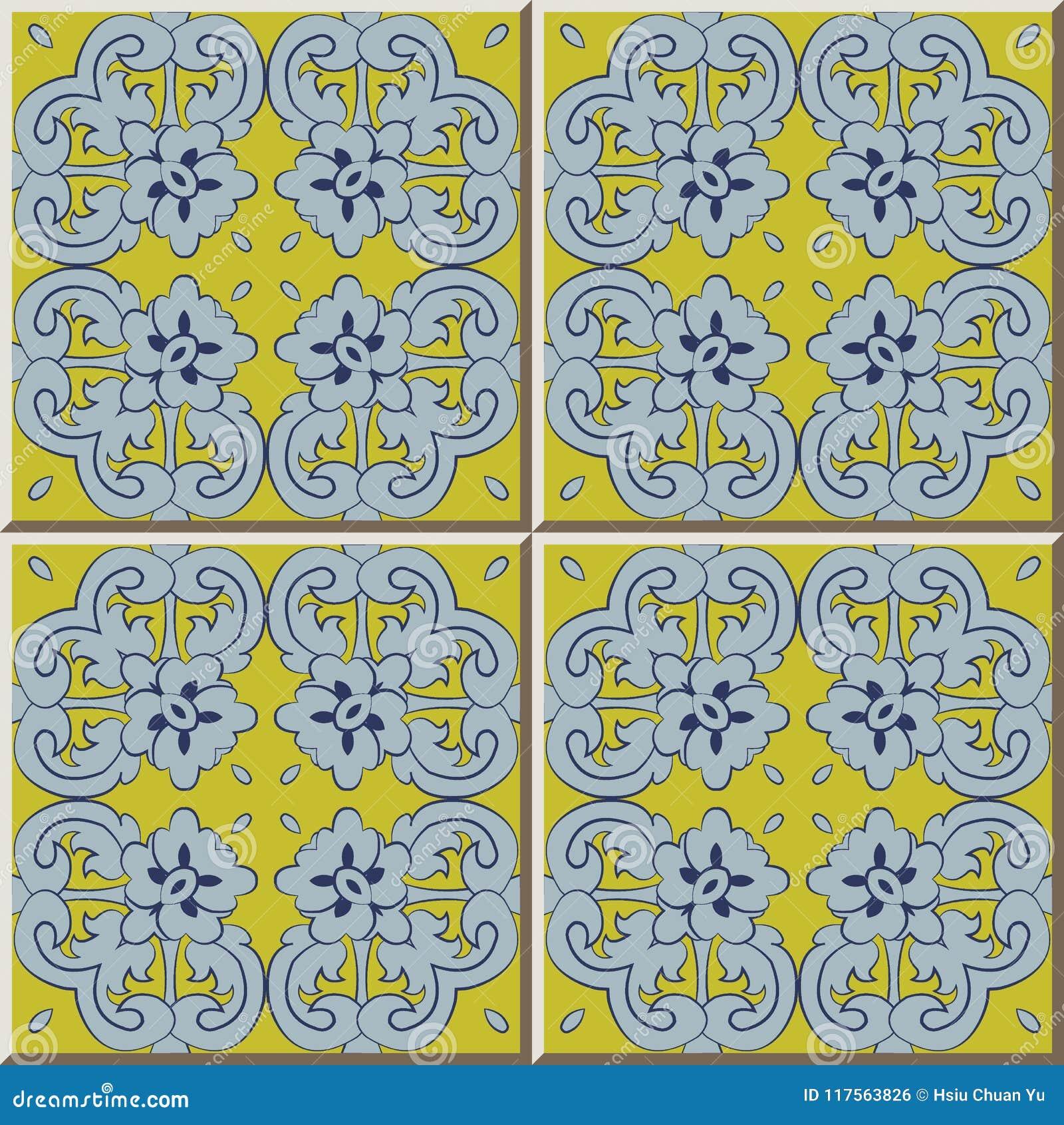 För modellfjäder för keramisk tegelplatta flowe för blad för kors för kontroll för spiral för kurva