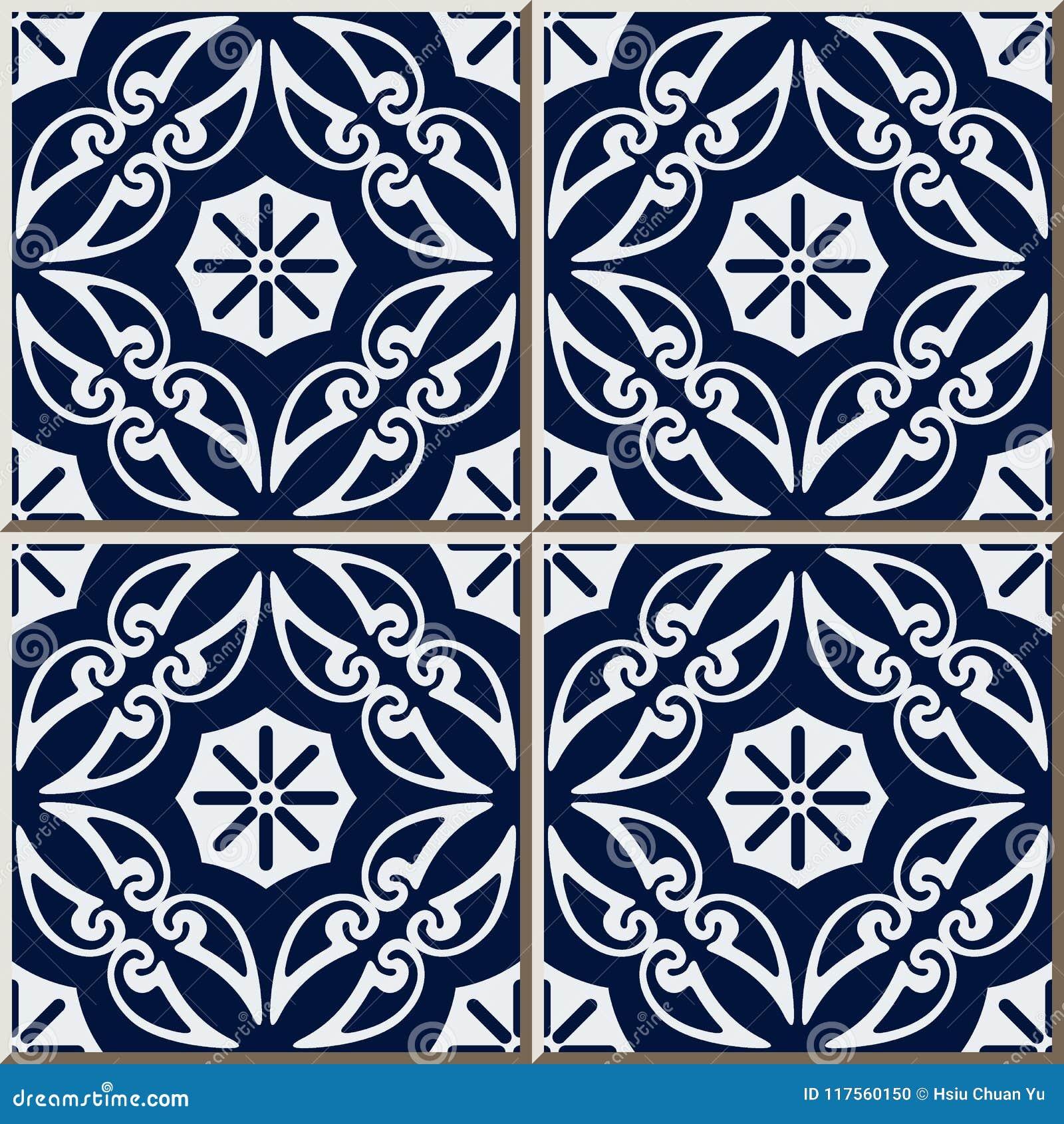 För modellkurva för keramisk tegelplatta blomma för vinranka för ram för kors för spiral