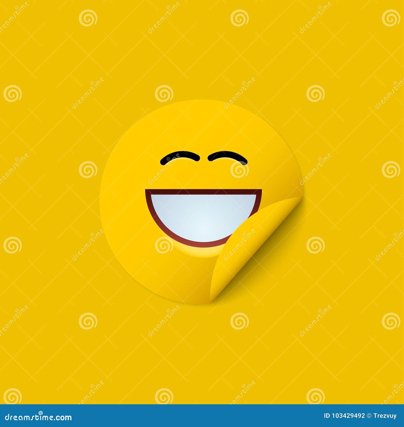För modern gul idérik bakgrund framsidaklistermärke för vektor