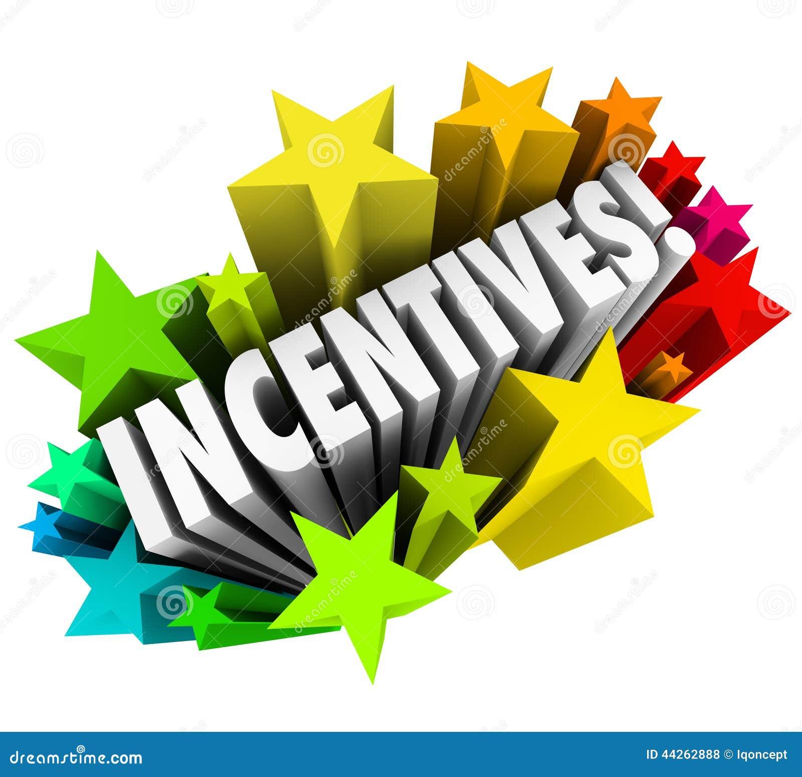 För ordstjärnor för incitament som 3d fyrverkerier annonserar befordranbelöningar