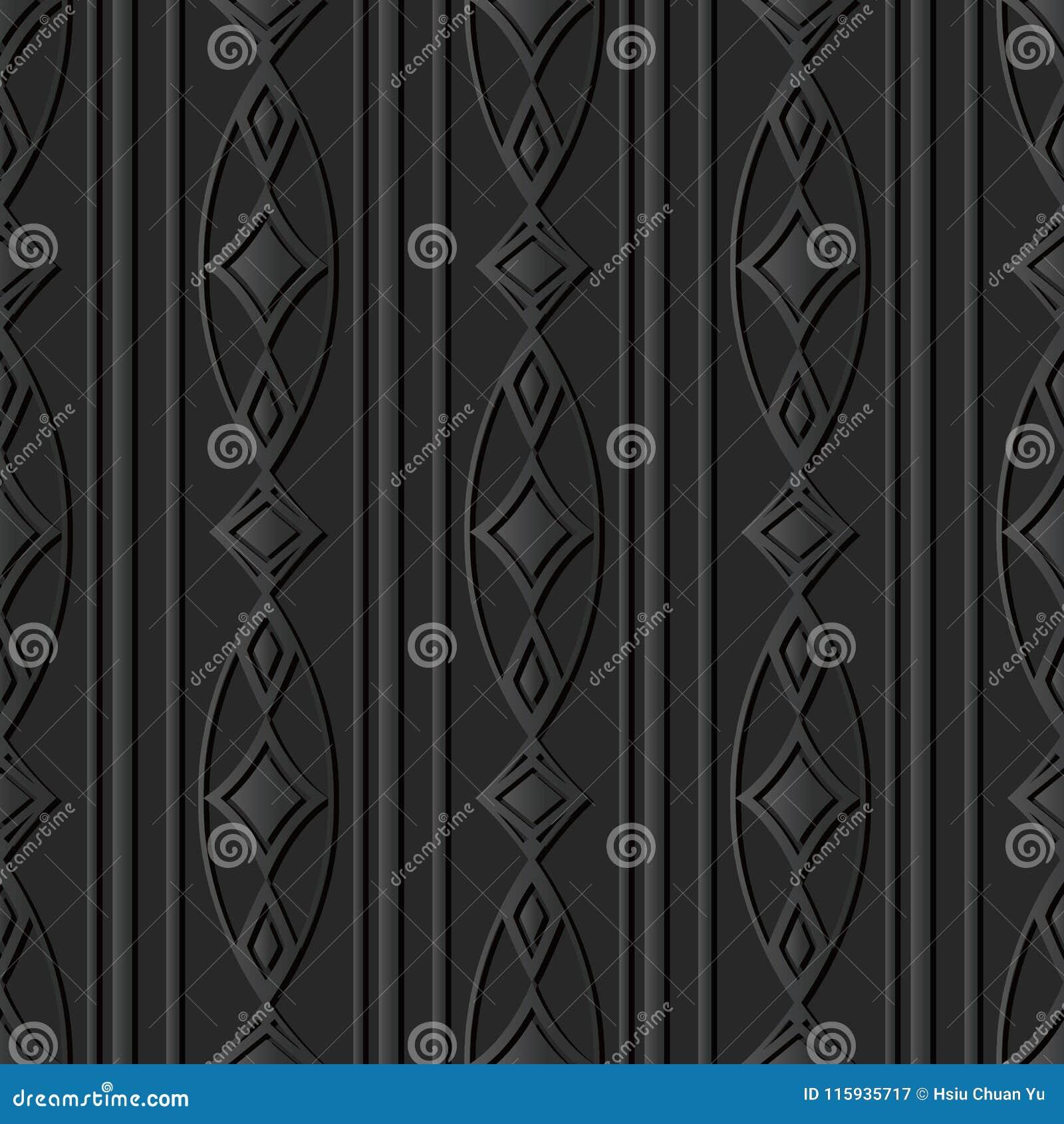 För papperskonst för mörker 3D linje för ram för kors för kurva oval Diamond Gem