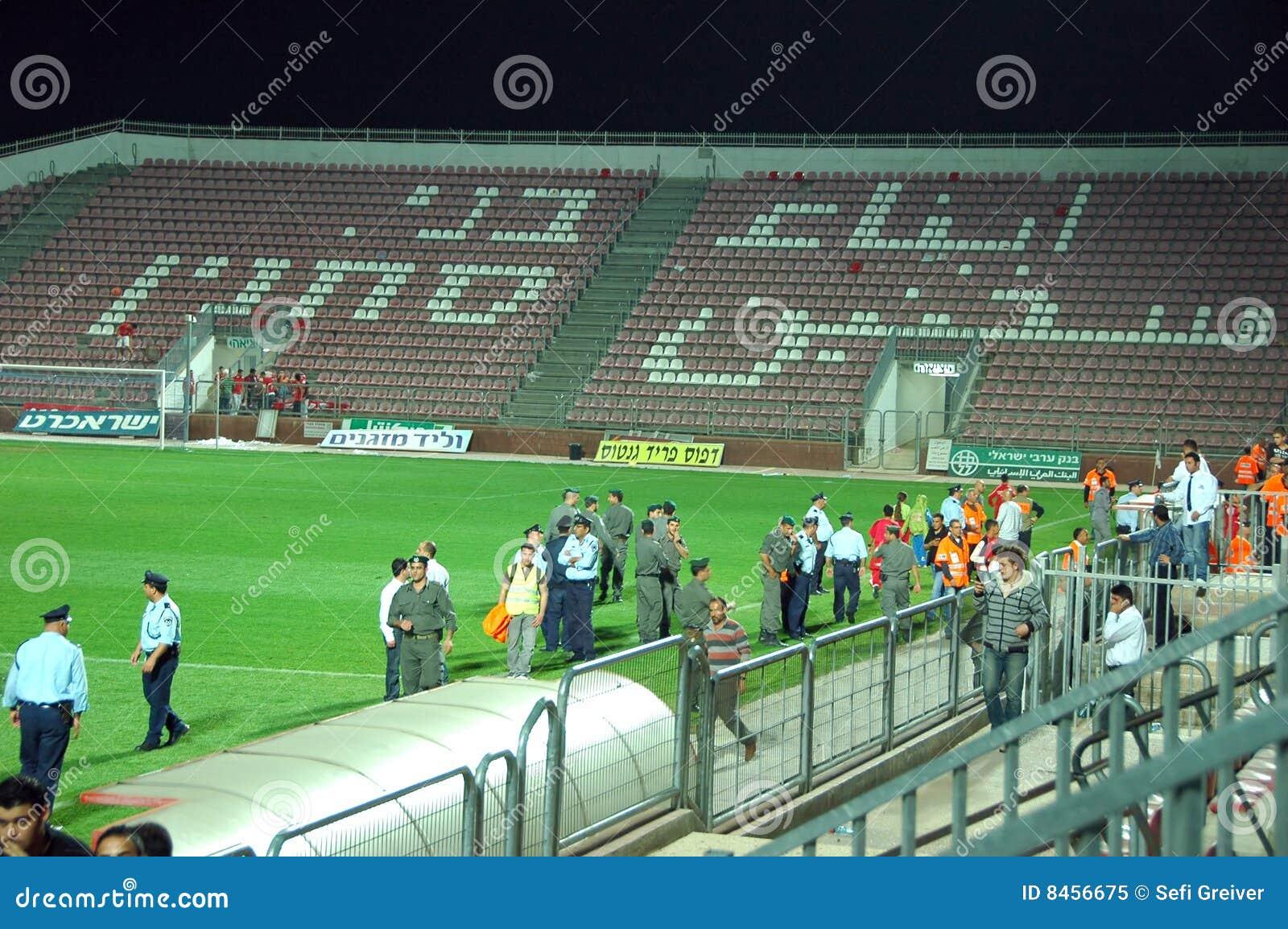 För polissakhnin för bnei tom stadion