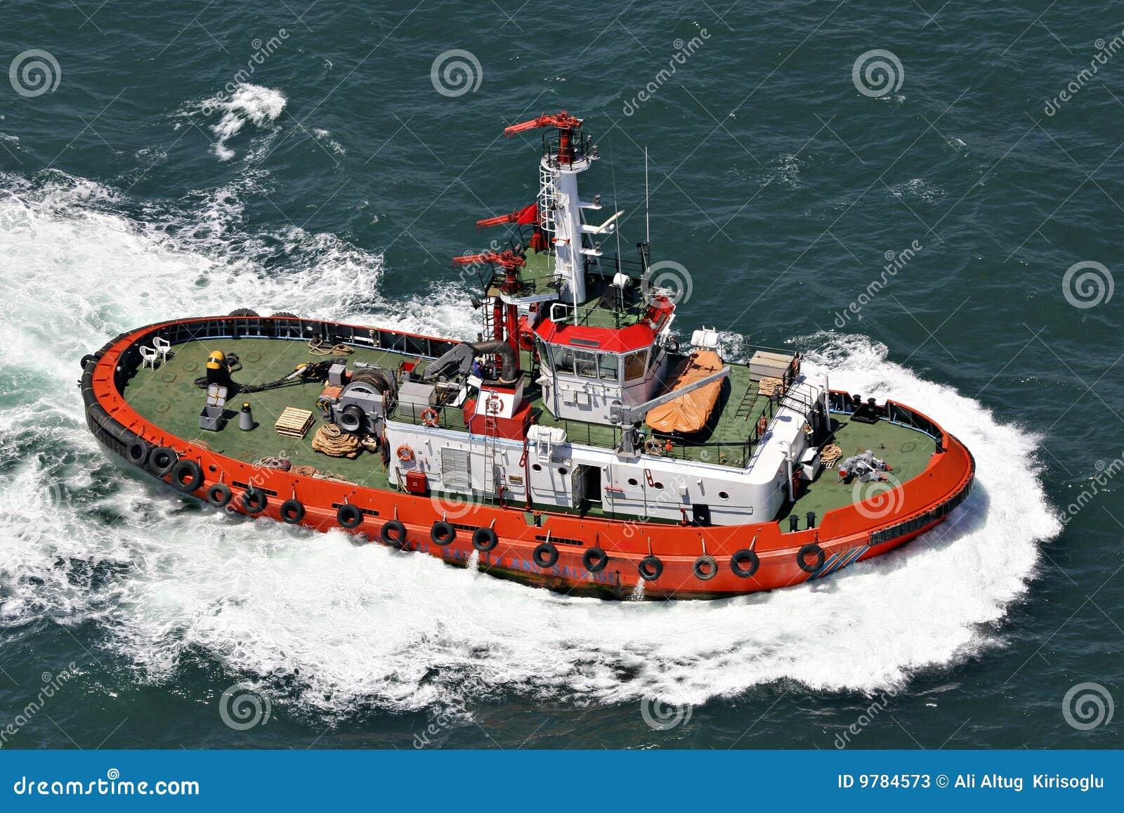 För räddningsaktionsäkerhet för fartyg kust- bärgning