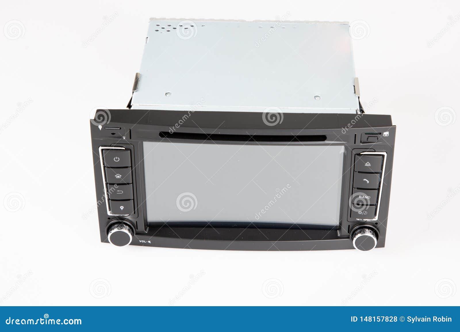 För radiouppsättning för bil stereo- kontroll för system för navigering och för multimedia för manöverenhet för pekskärm, inre mo