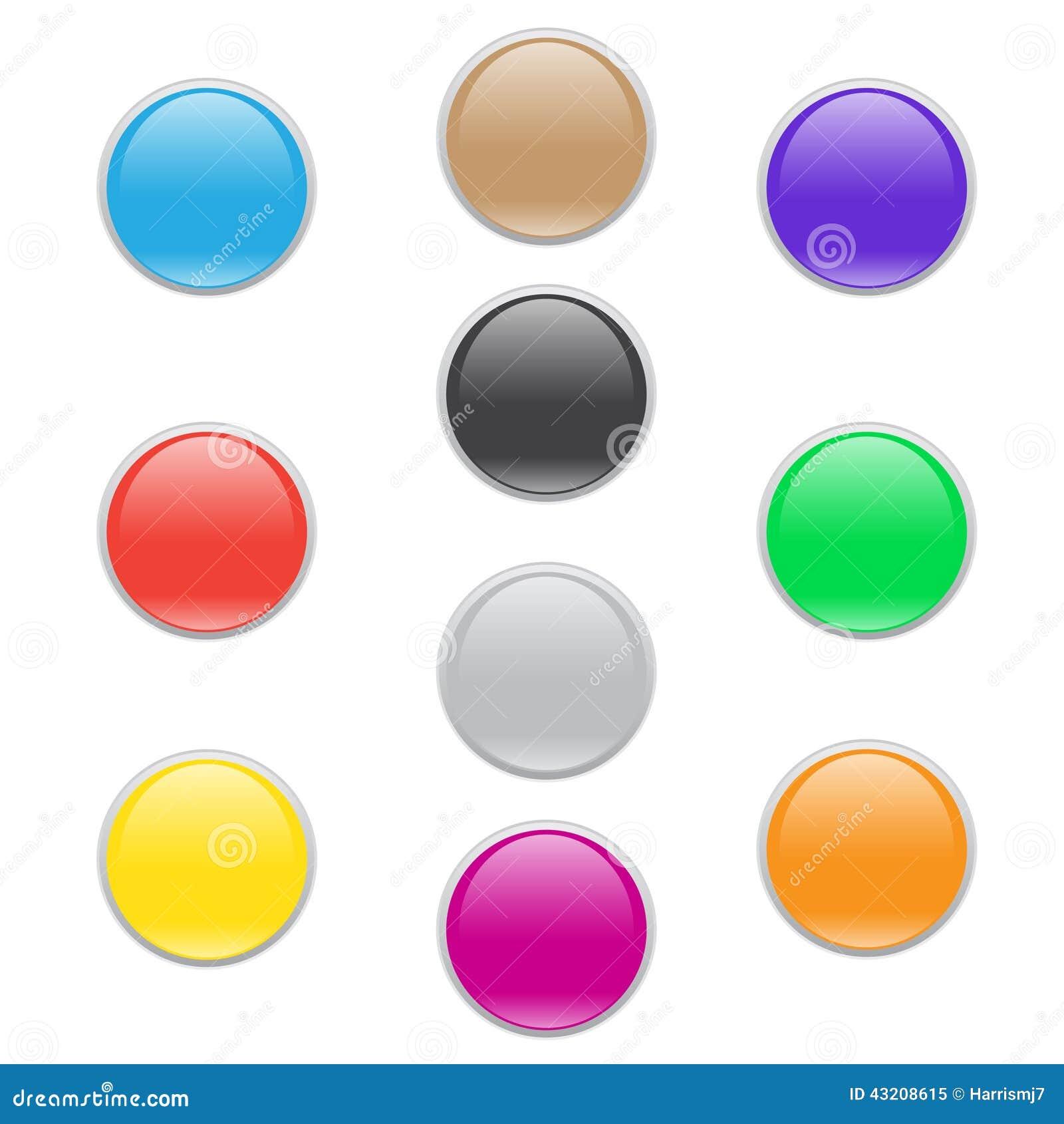 Download För Rengöringsduksymbol För Färgrik Cirkel Glass Uppsättning För Knapp Stock Illustrationer - Illustration av design, färgrikt: 43208615