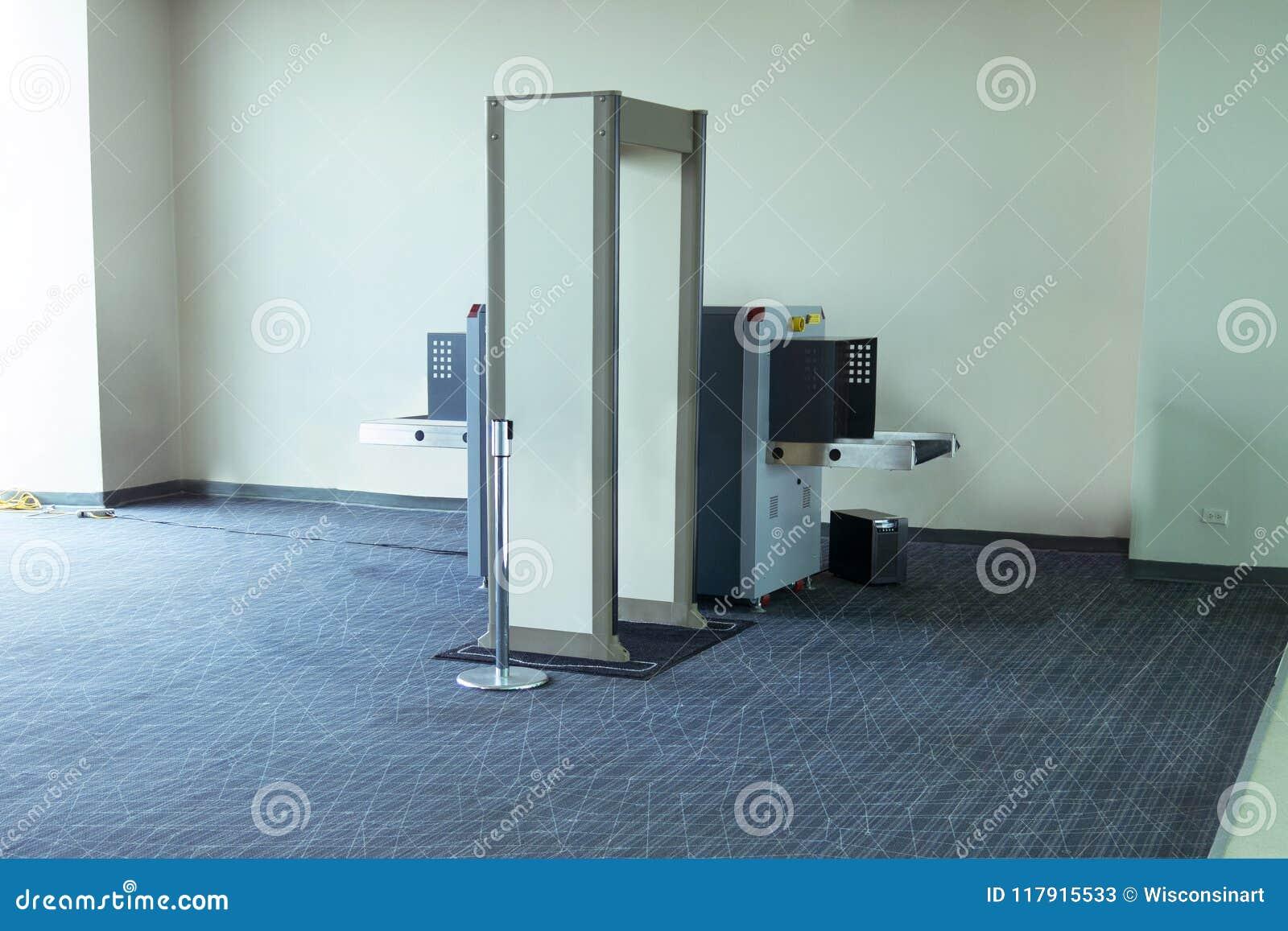För säkerhetskontroll för flygplats TSA maskin för bildläsare
