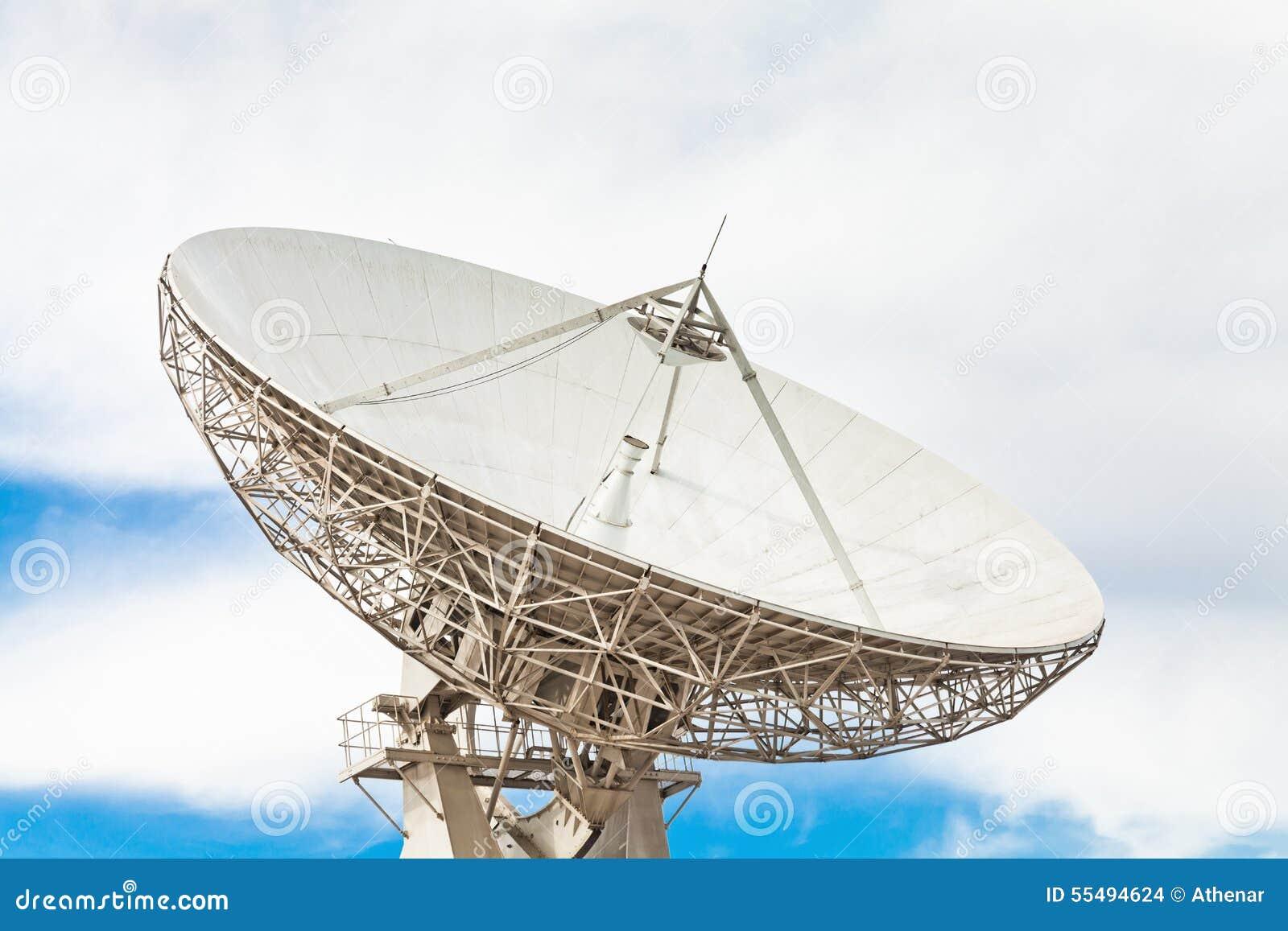 För satellitvektor för maträtt illustration isolerad white