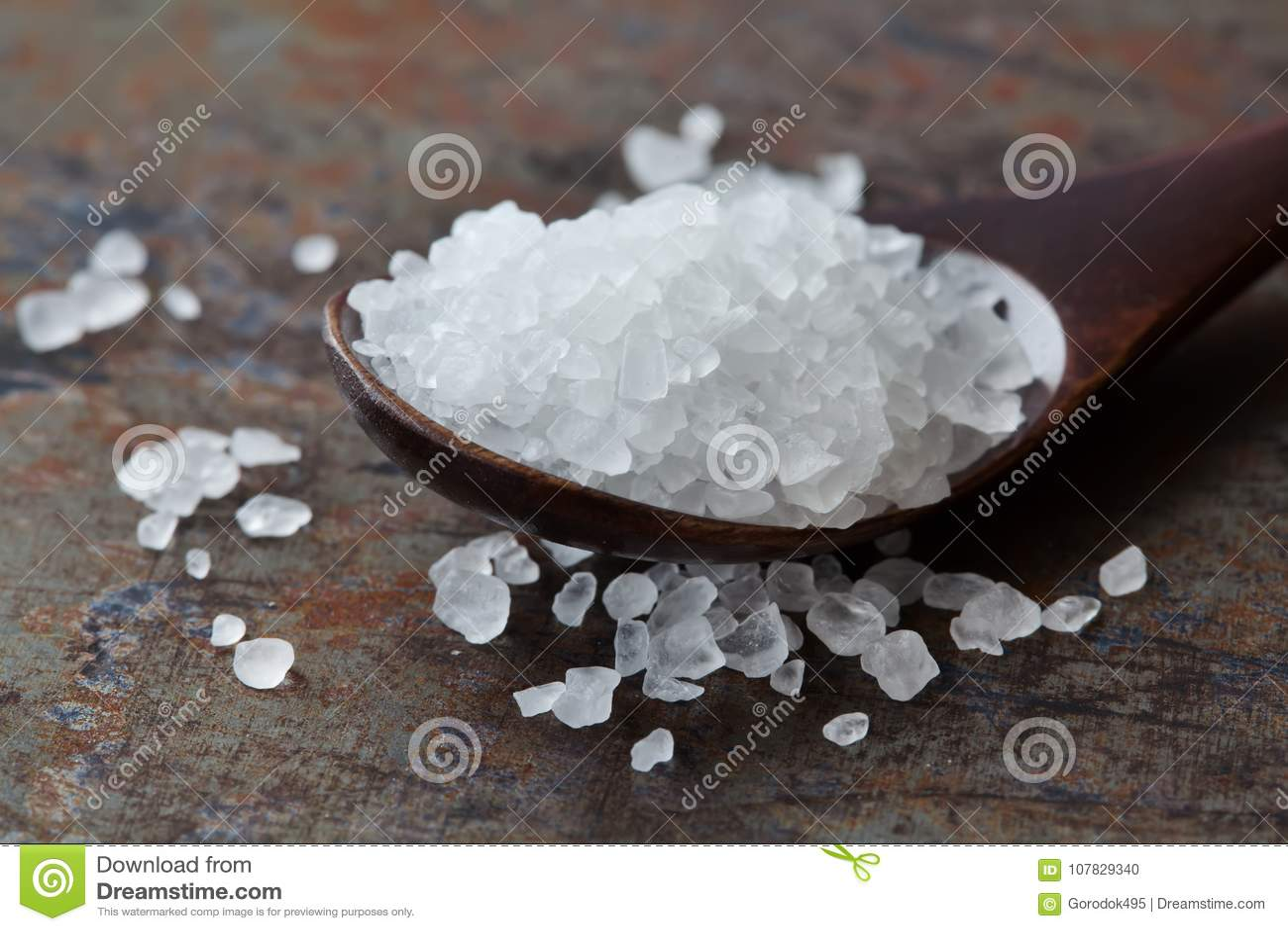 För smaktillsatsmakro för hav salt sikt Naturlig mineralisk för skyddande för mat för smaktillsats vit kristall salthaltig natriu