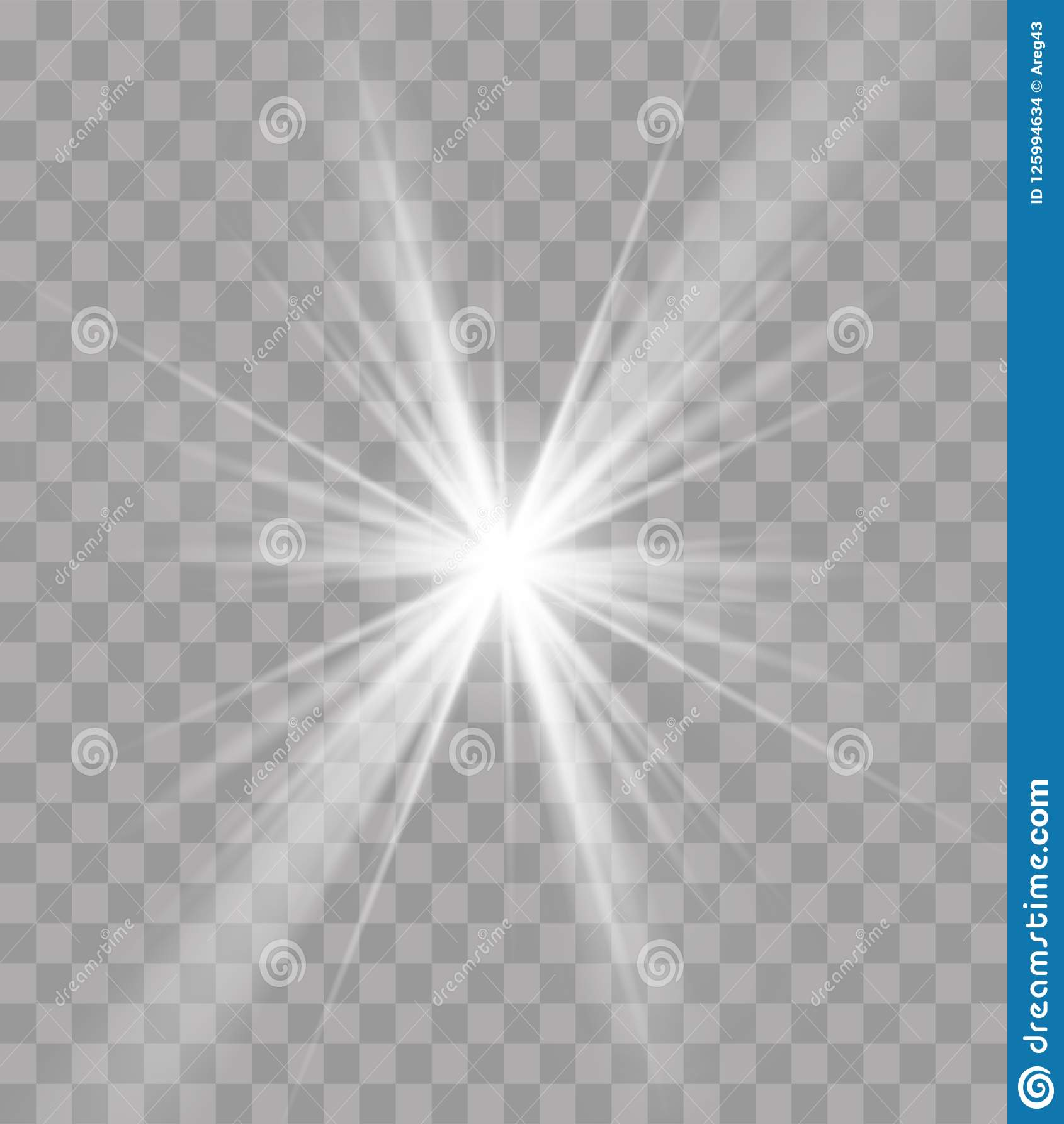 För solstjärna för ljusa strålar effekt för strålglans för exponering för sken