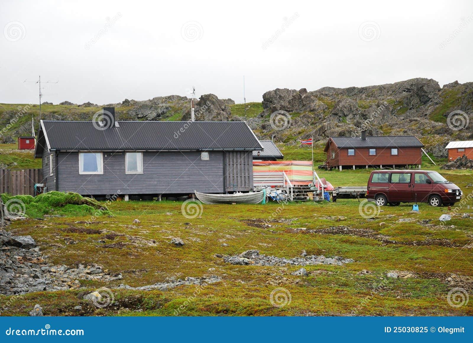 By för sommar för finnmarkfiske norsk