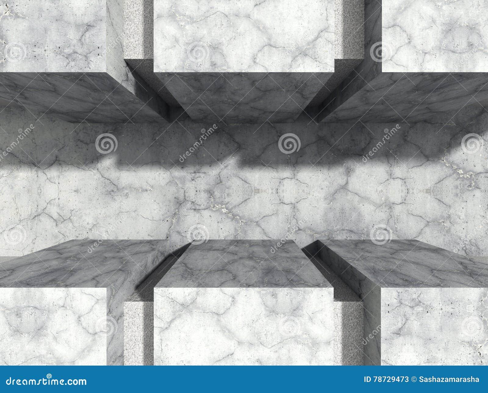 För stenvägg för abstrakt konkret arkitektur stads- bakgrund
