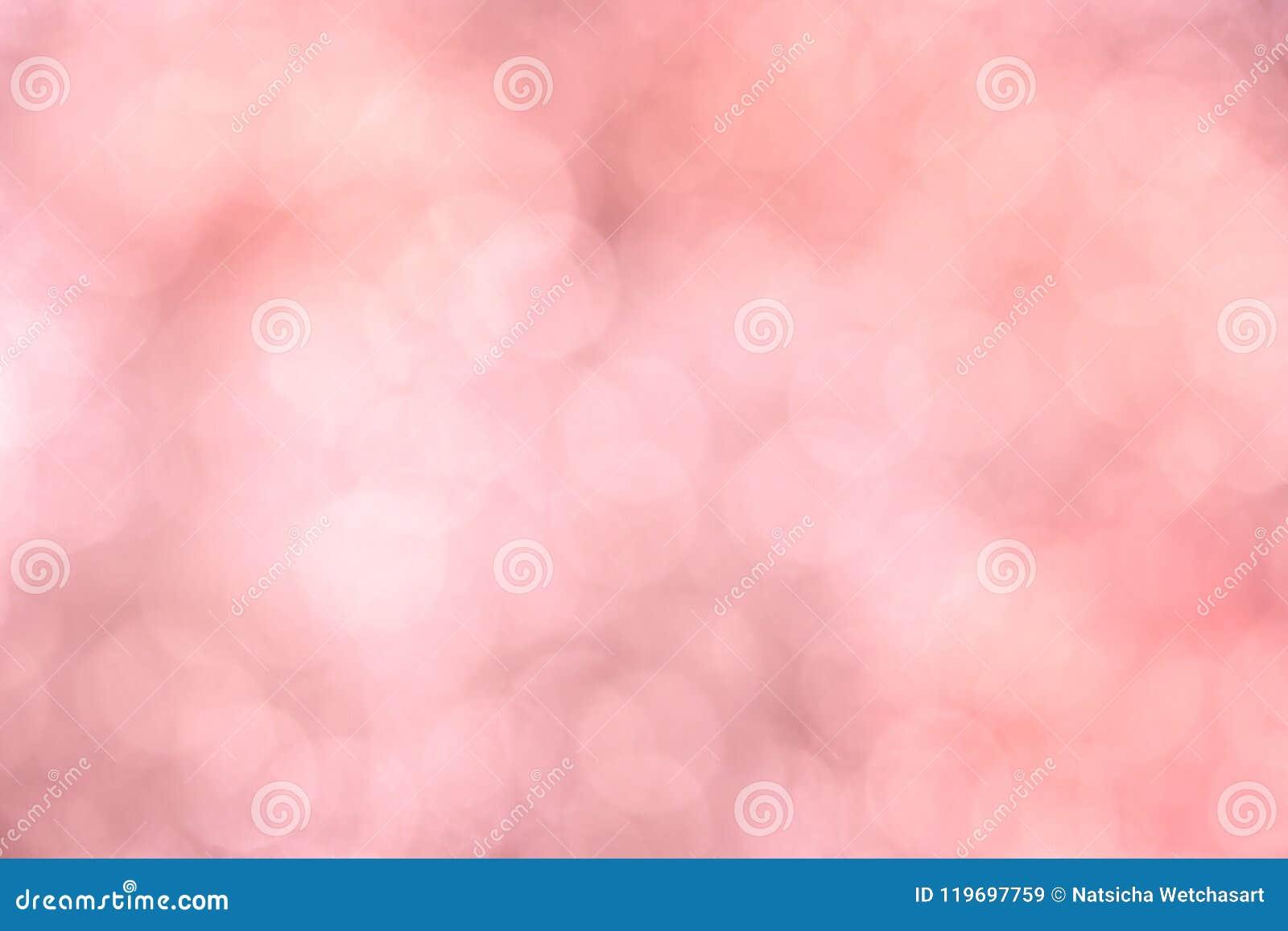 För suddig rosa mjuk pastellfärgad bakgrund bokehvår för tappning