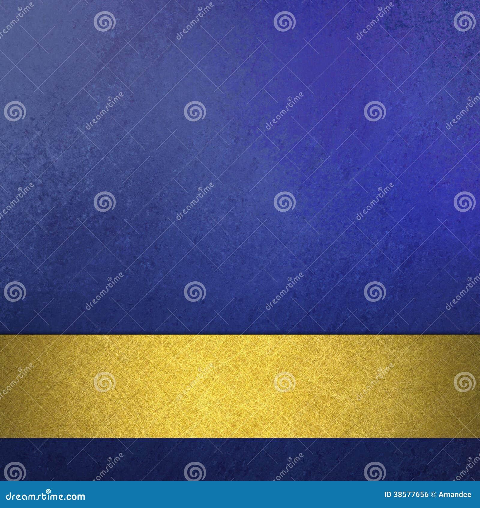 För tappninggrunge för abstrakt blå bakgrund lyxig rik design för textur för bakgrund med bandet för band för elegant antikvitetab