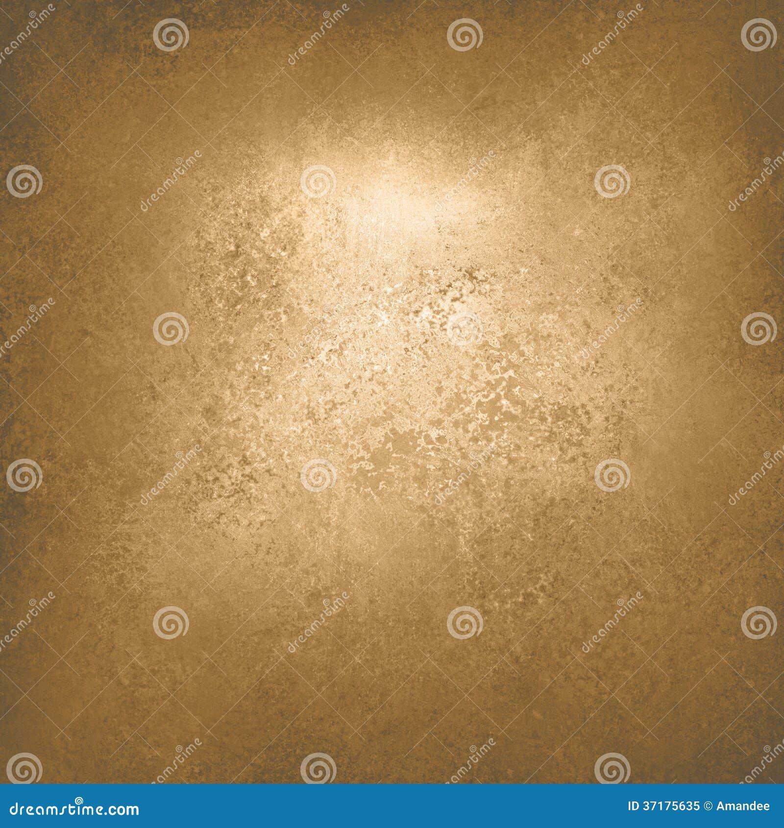 För tappninggrunge för abstrakt guld- bakgrund lyxig rik design för textur för bakgrund med elegant antik målarfärg på väggillustr