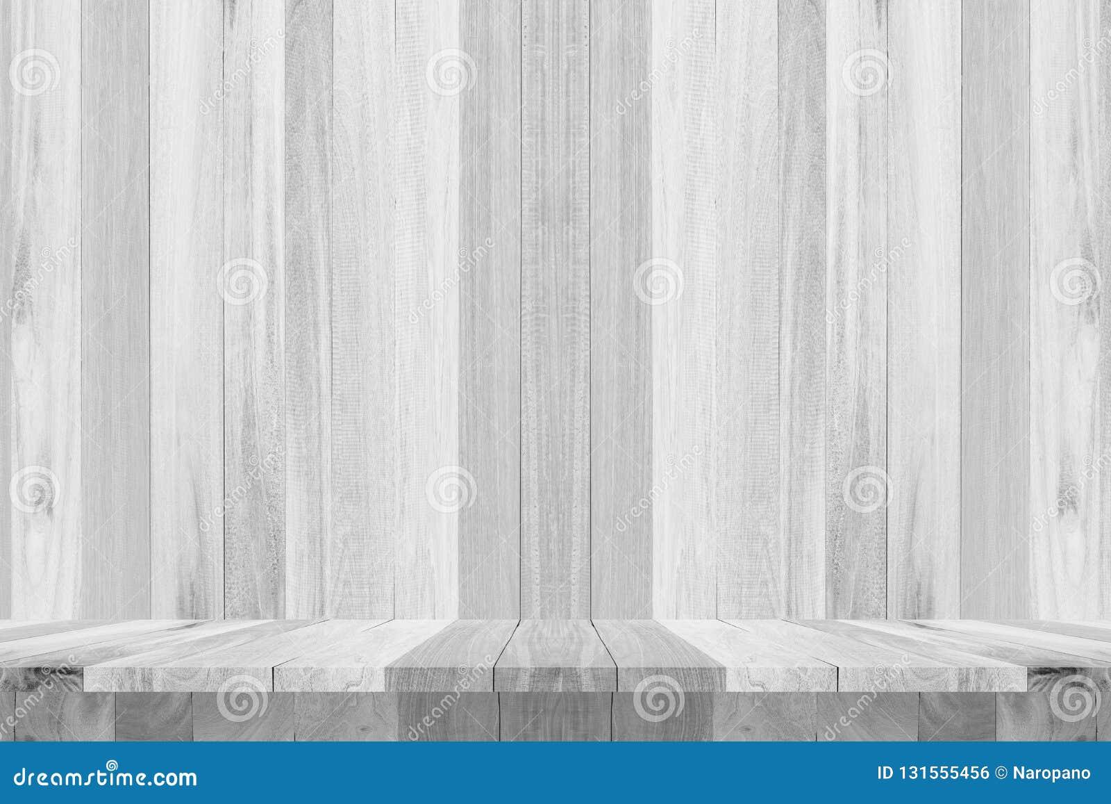 För texturbakgrund för trä vitt mellanrum för design
