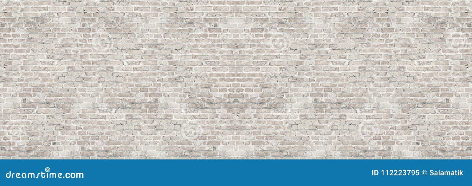 För washtegelsten för tappning vit textur för vägg för design Panorama- bakgrund