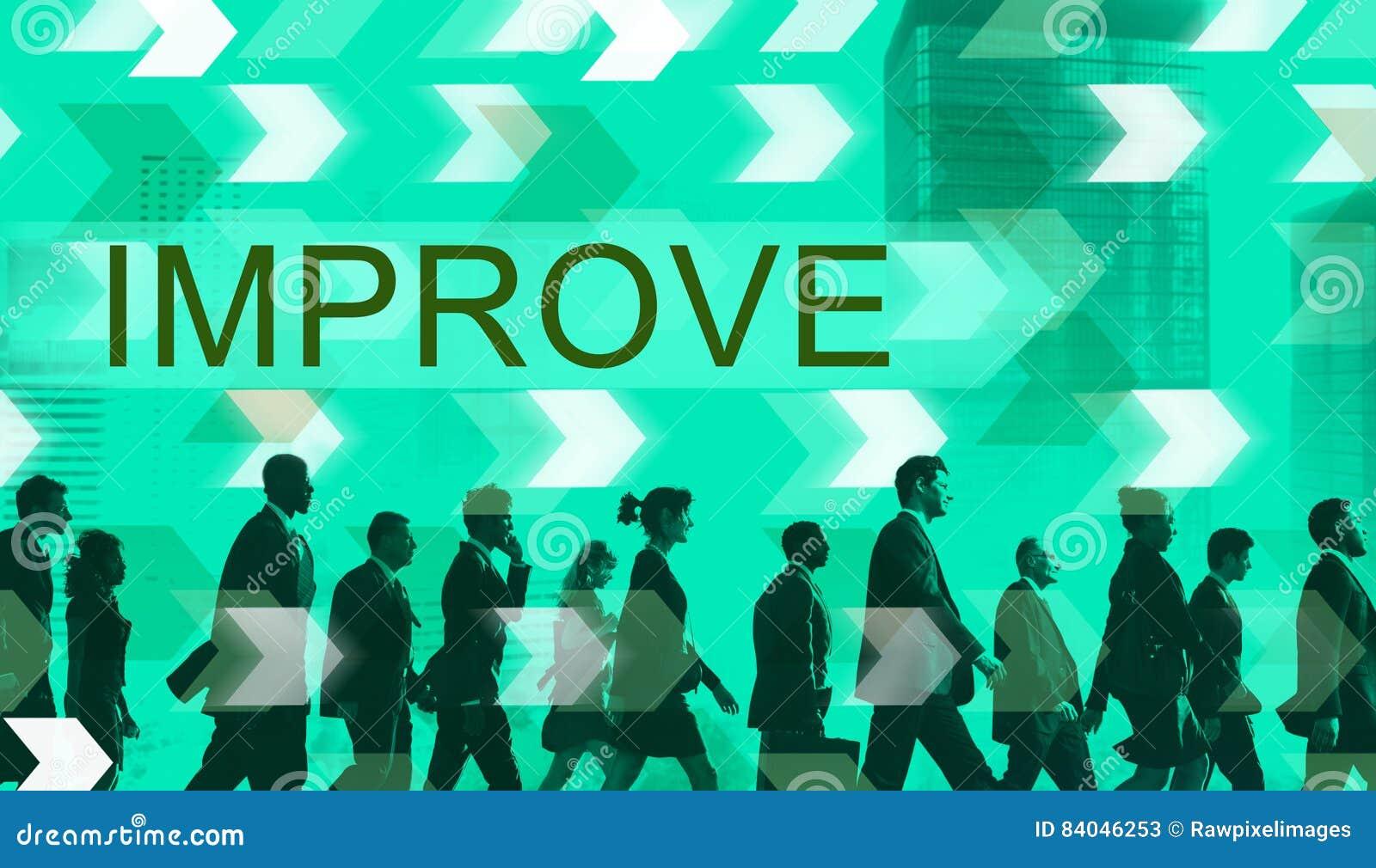 Förbättra begrepp för ändring för förbättringsutveckling bättre