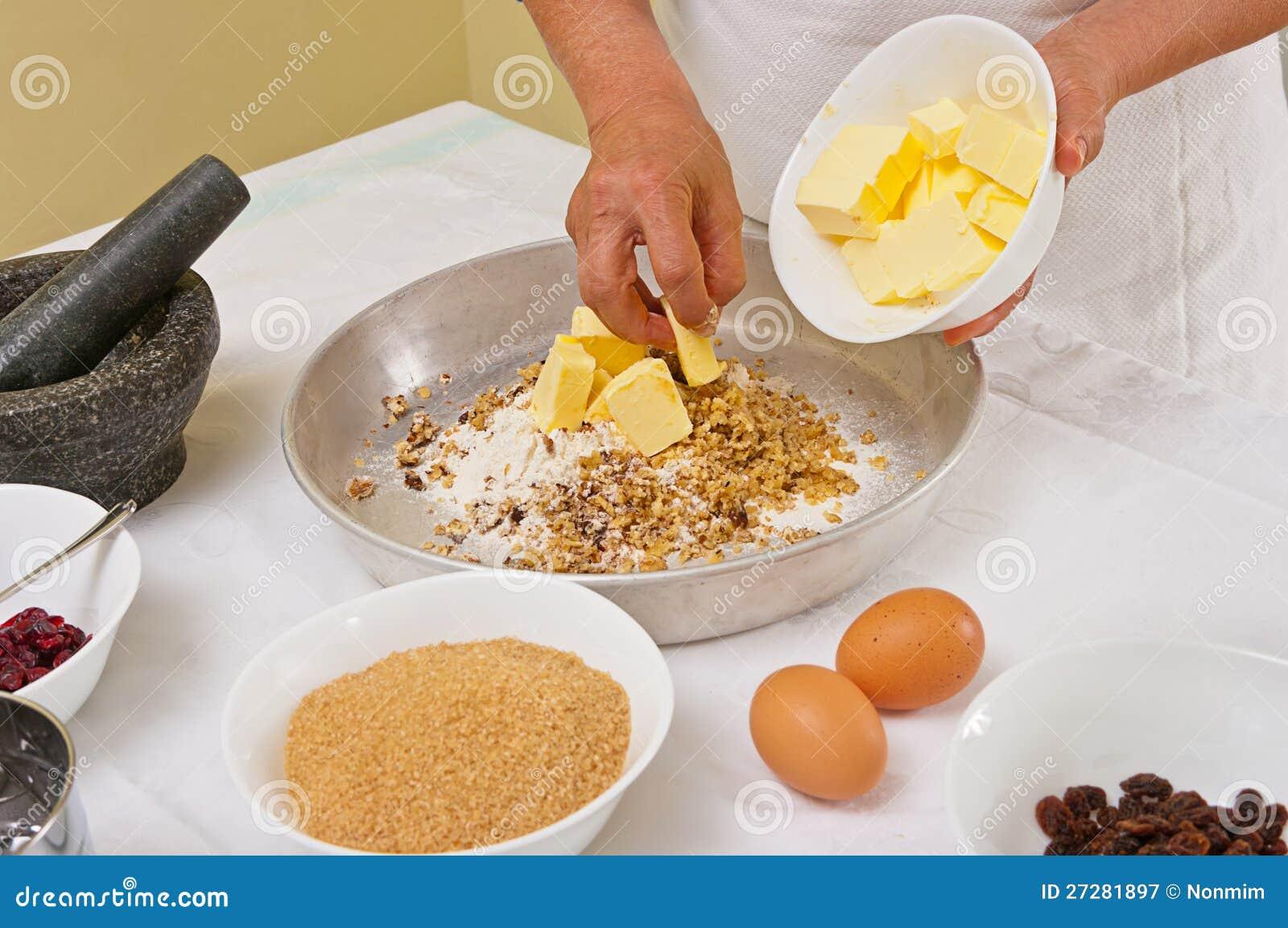 Förbereda hemlagade kakor