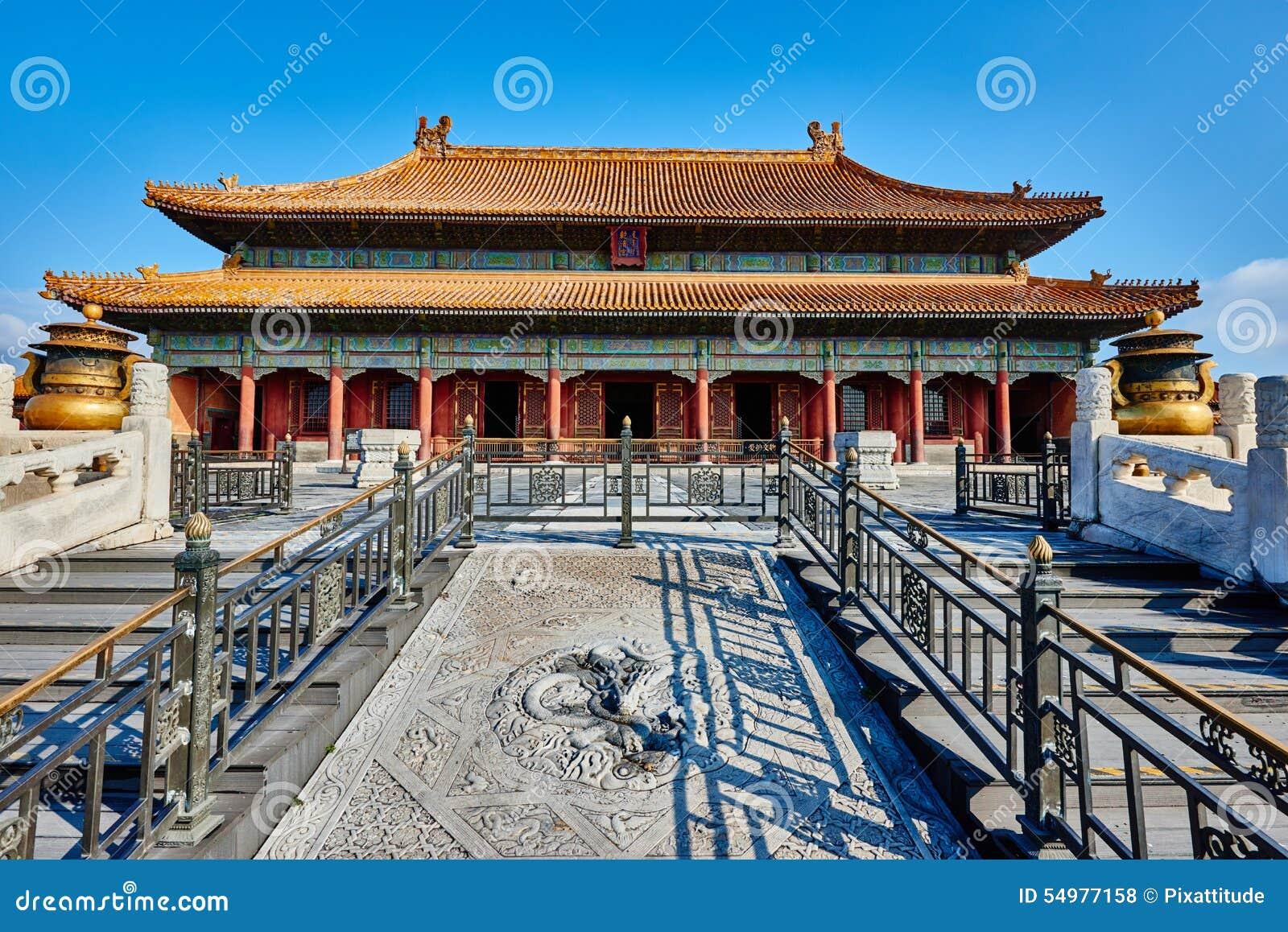 Förbjuden Qianqinggong slott av himla- renhet