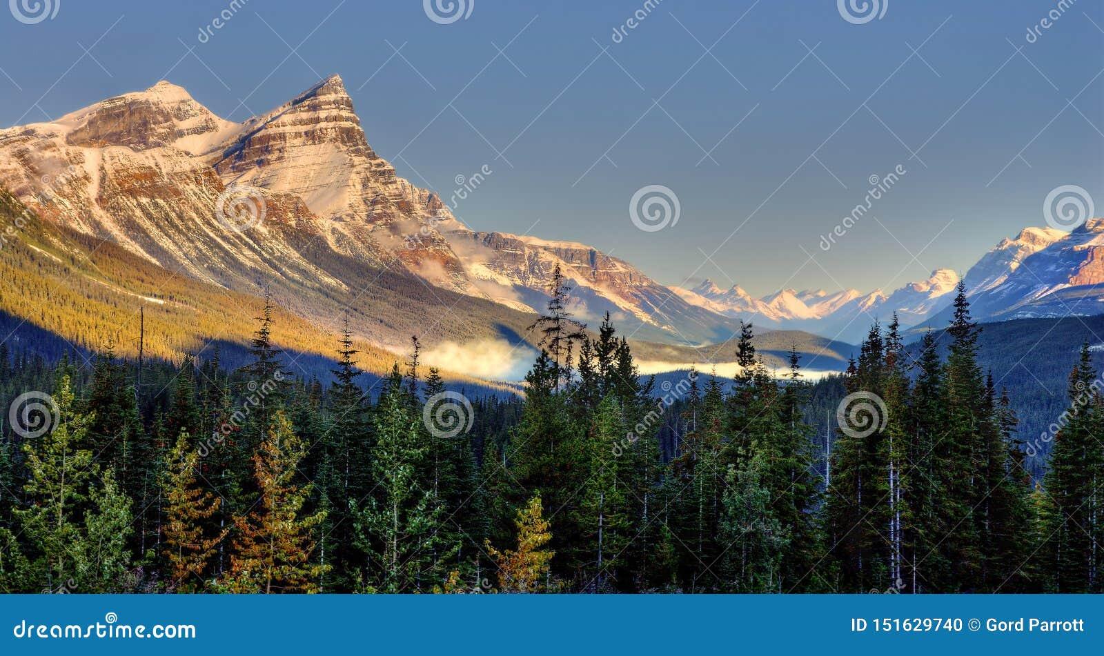 Förbluffa Alberta Landscape