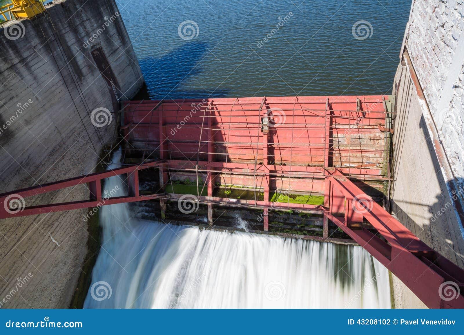 Download Fördämning På Floden Alatyr Arkivfoto - Bild av stort, metall: 43208102