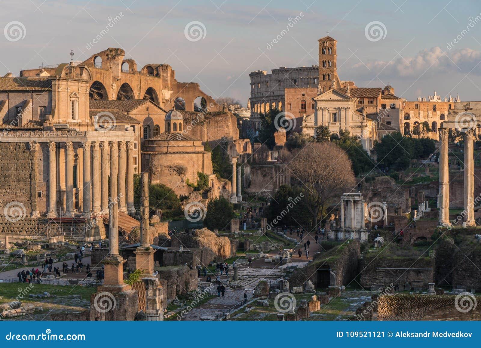 Fördärvar av forntida Rome
