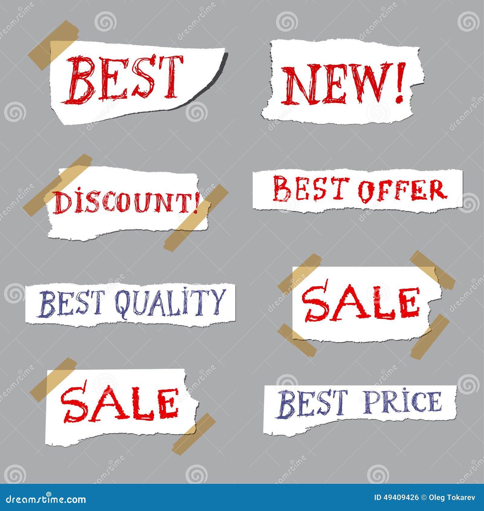 Download Förderungsaufkleber stock abbildung. Illustration von kennsatz - 49409426