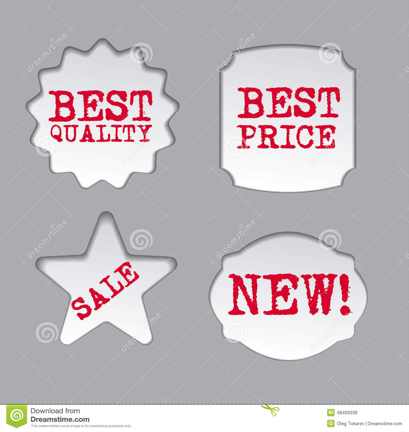 Download Förderungsverkaufsaufkleber Stock Abbildung - Illustration von d0, kennsätze: 49409338