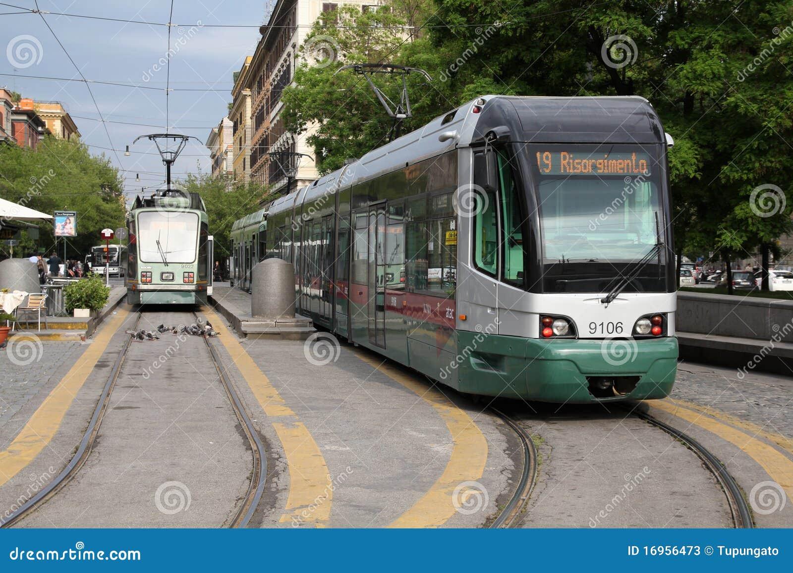 Förderwagen in Rom