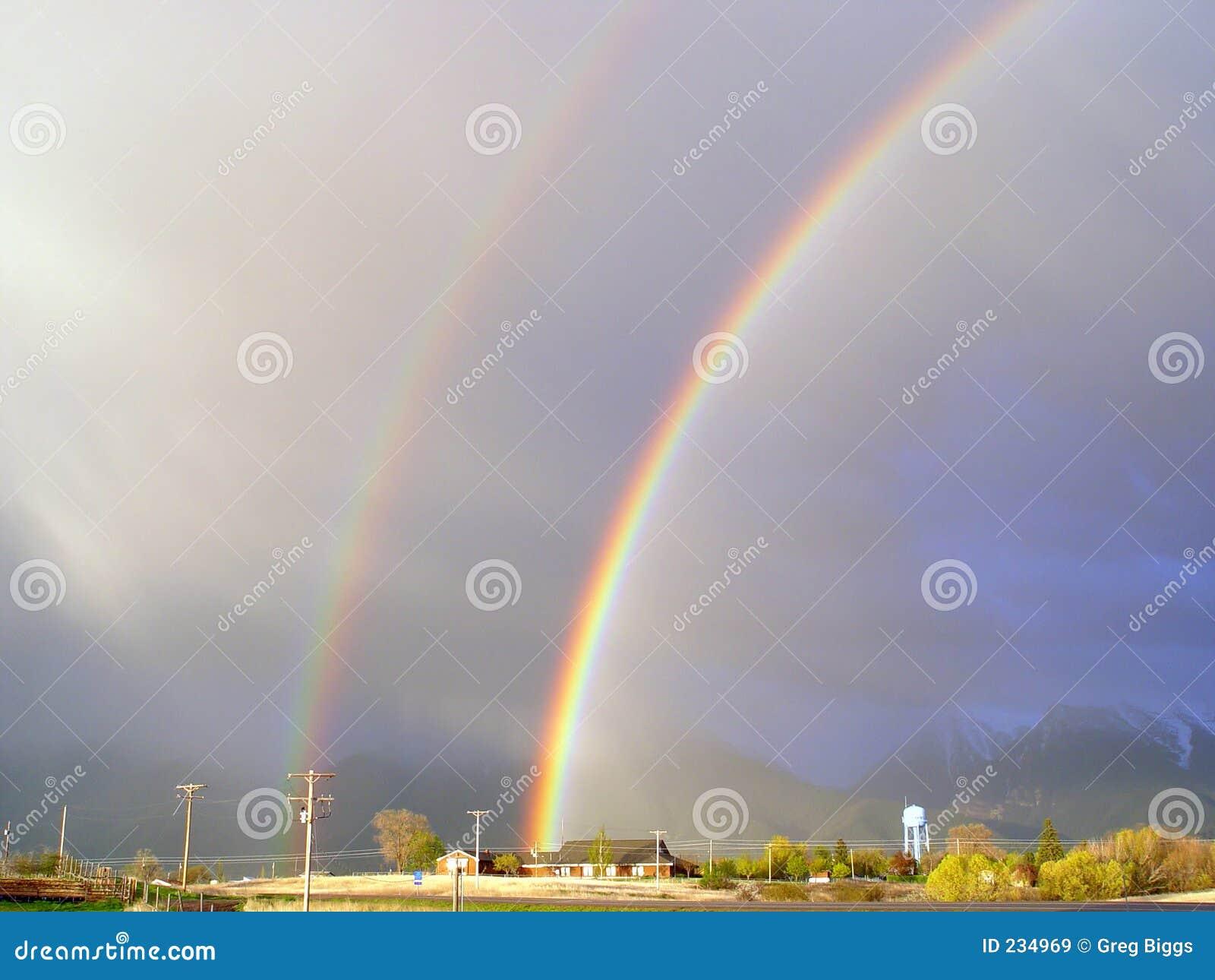 Fördubbla regnbågen
