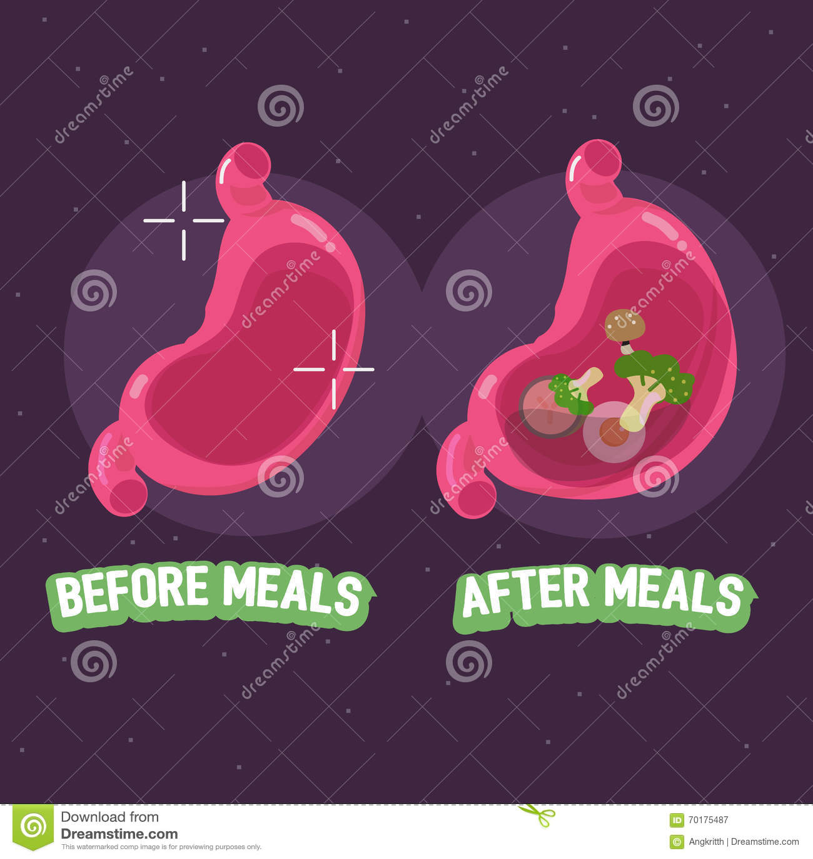 Före och efter mål av magen hur man tar preventivpillerbegreppet - ve