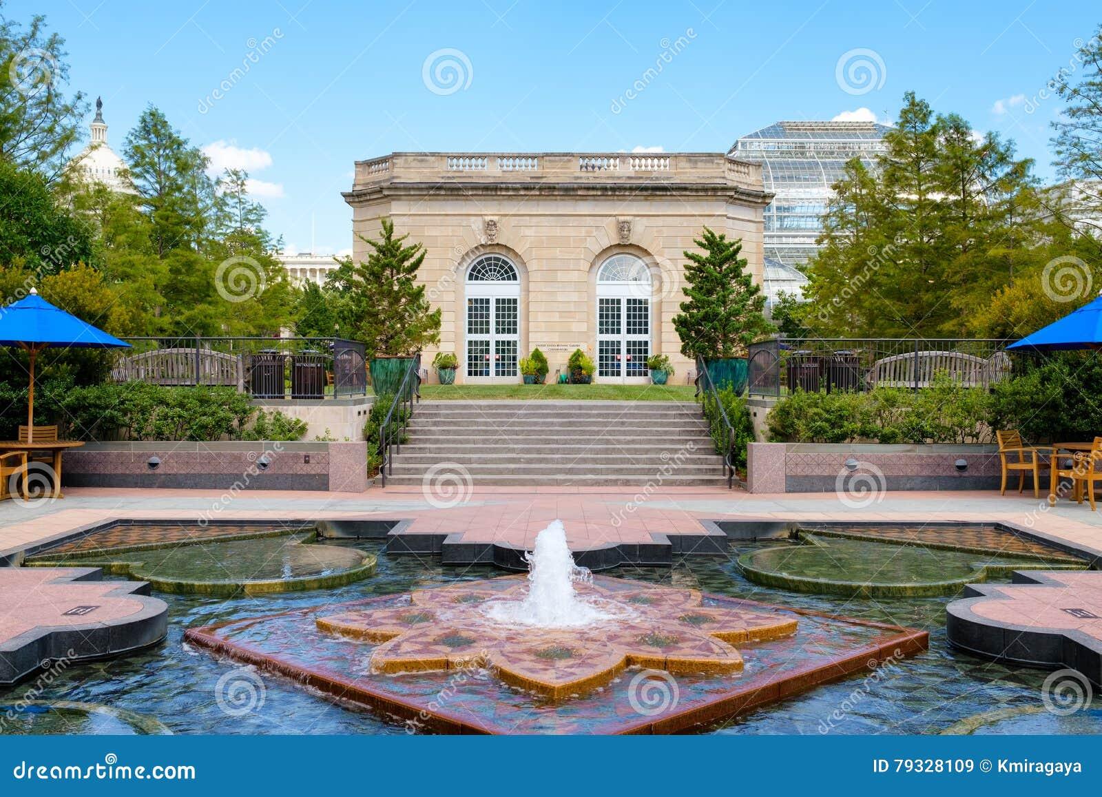 Förenta staternabotaniska trädgården i Washington D C