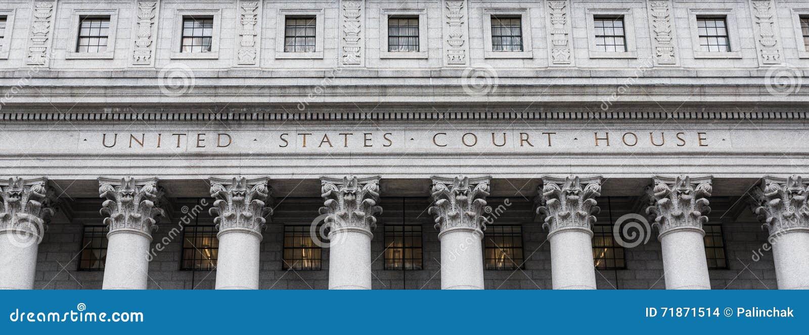 Förenta staternadomstolsbyggnad