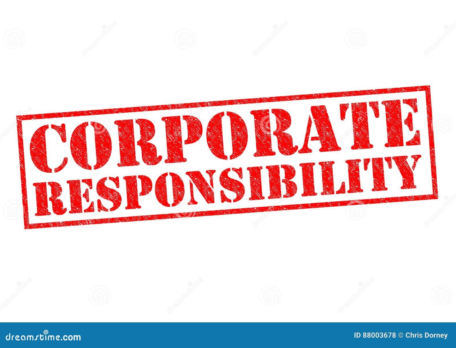 Företags ansvar